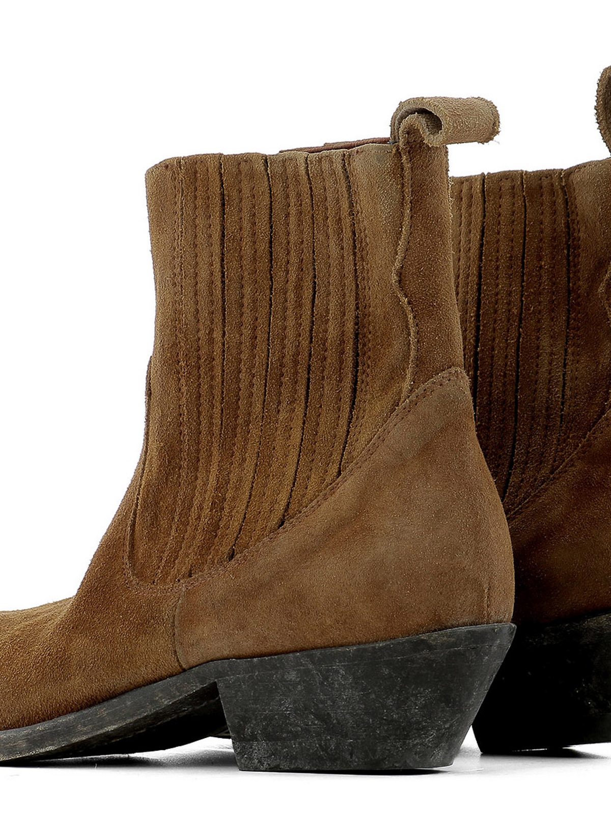 0e001b0759a9c iKRIX GOLDEN GOOSE: ankle boots - Crosby suede western ankle boots