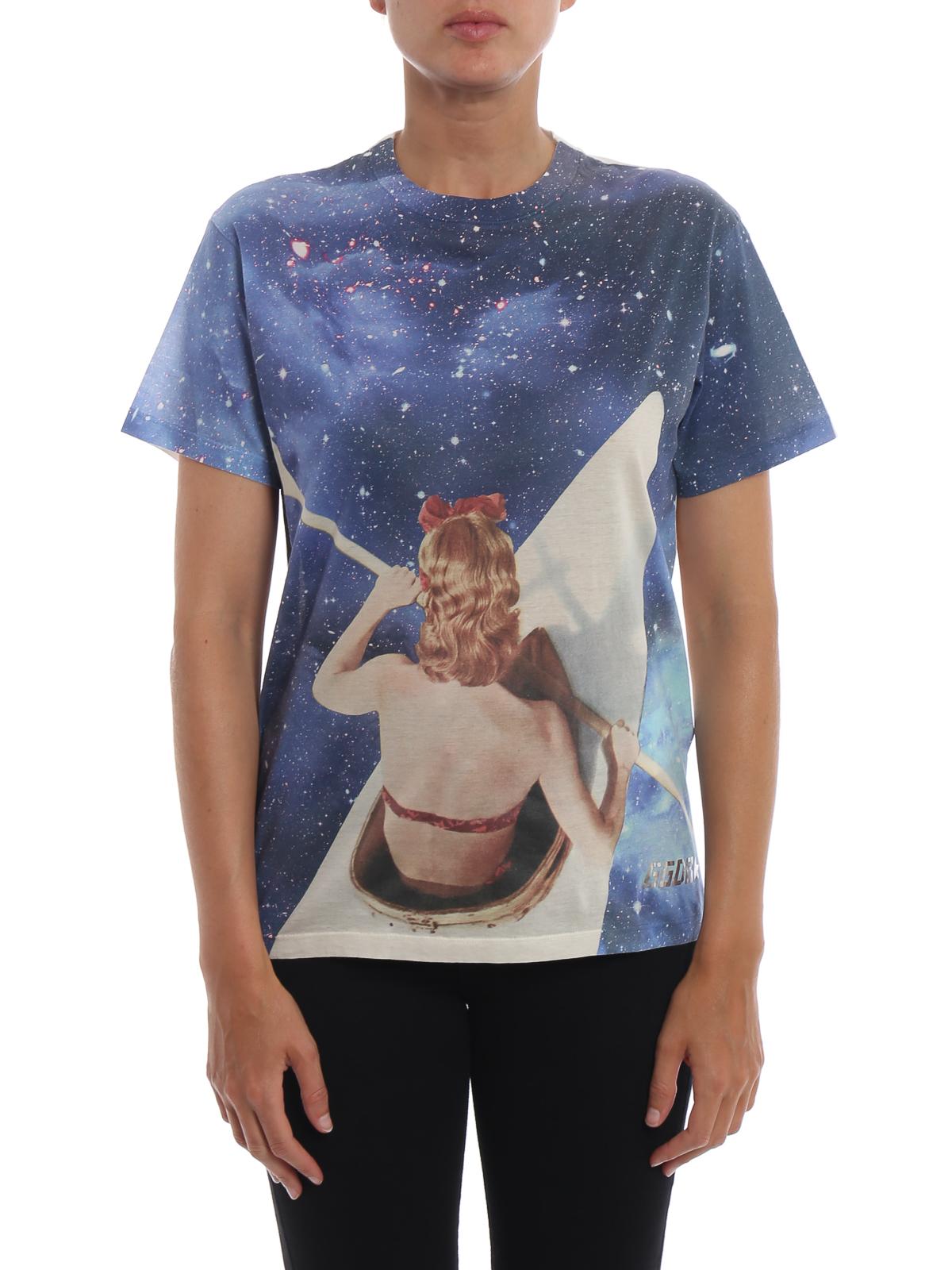 Golden Goose Hydra Galaxy Print T Shirt T Shirts G33wp023 A4