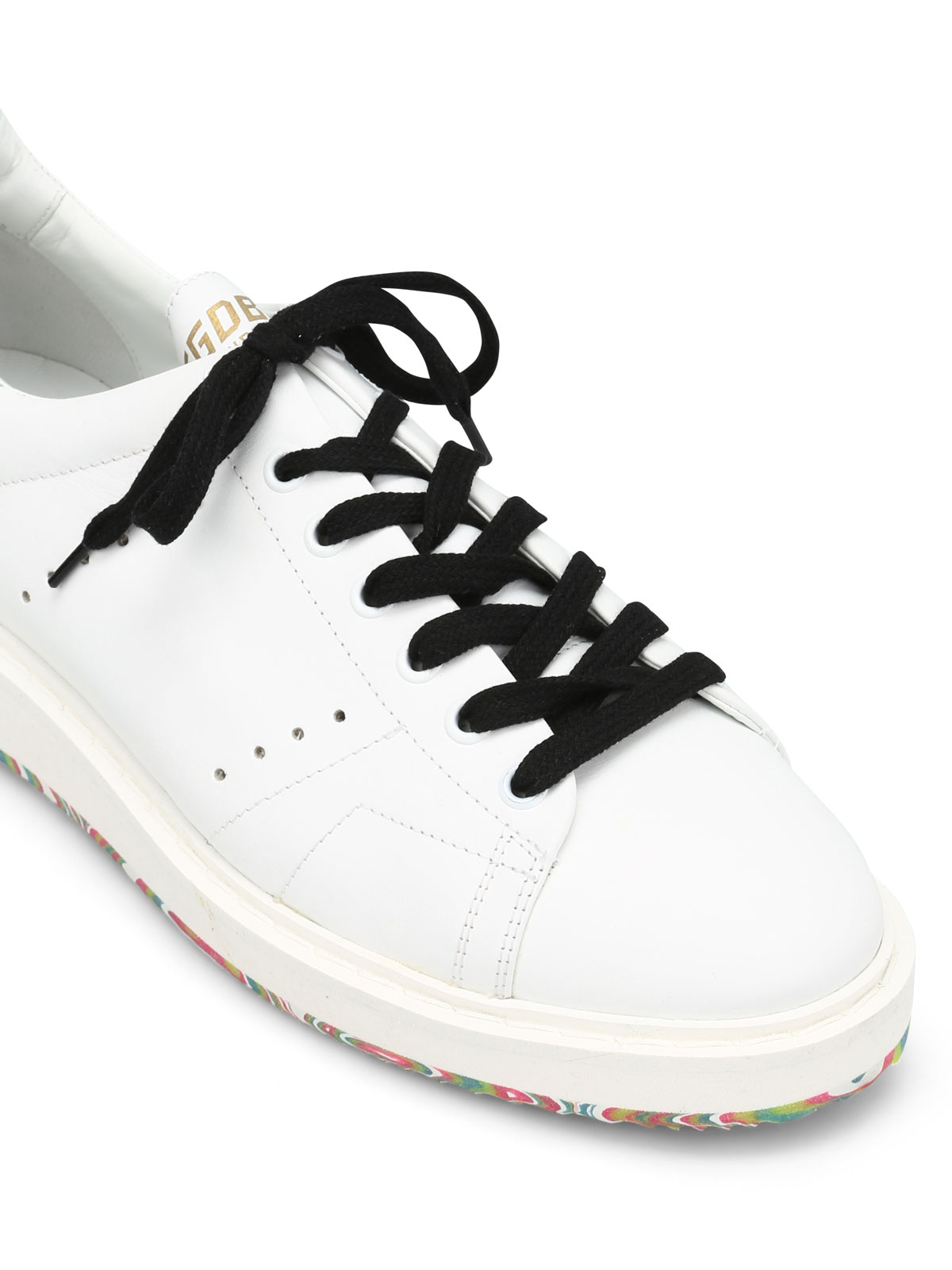 Golden Goose Starter Coloured Sole Sneakers Trainers