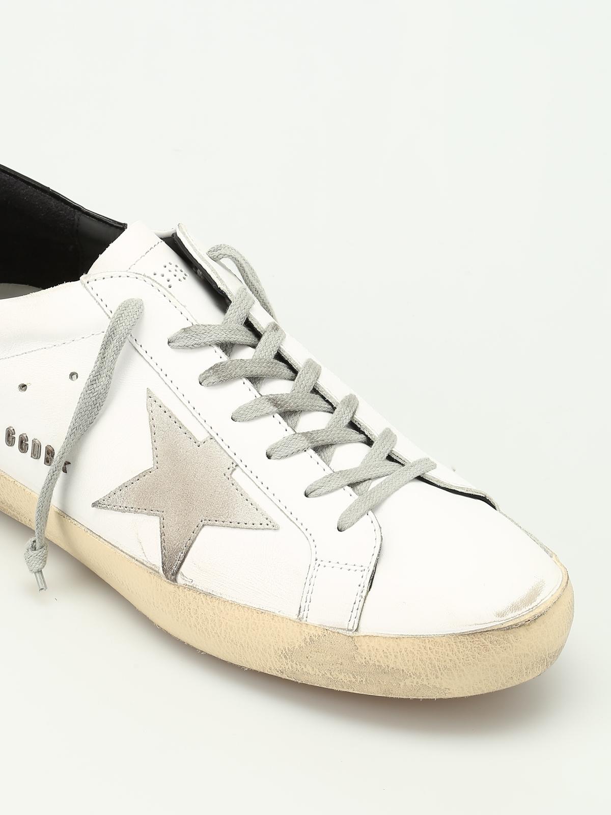 design de qualité 19520 0cbf1 Golden Goose - Baskets Super Star Pour Homme - Chaussures de ...