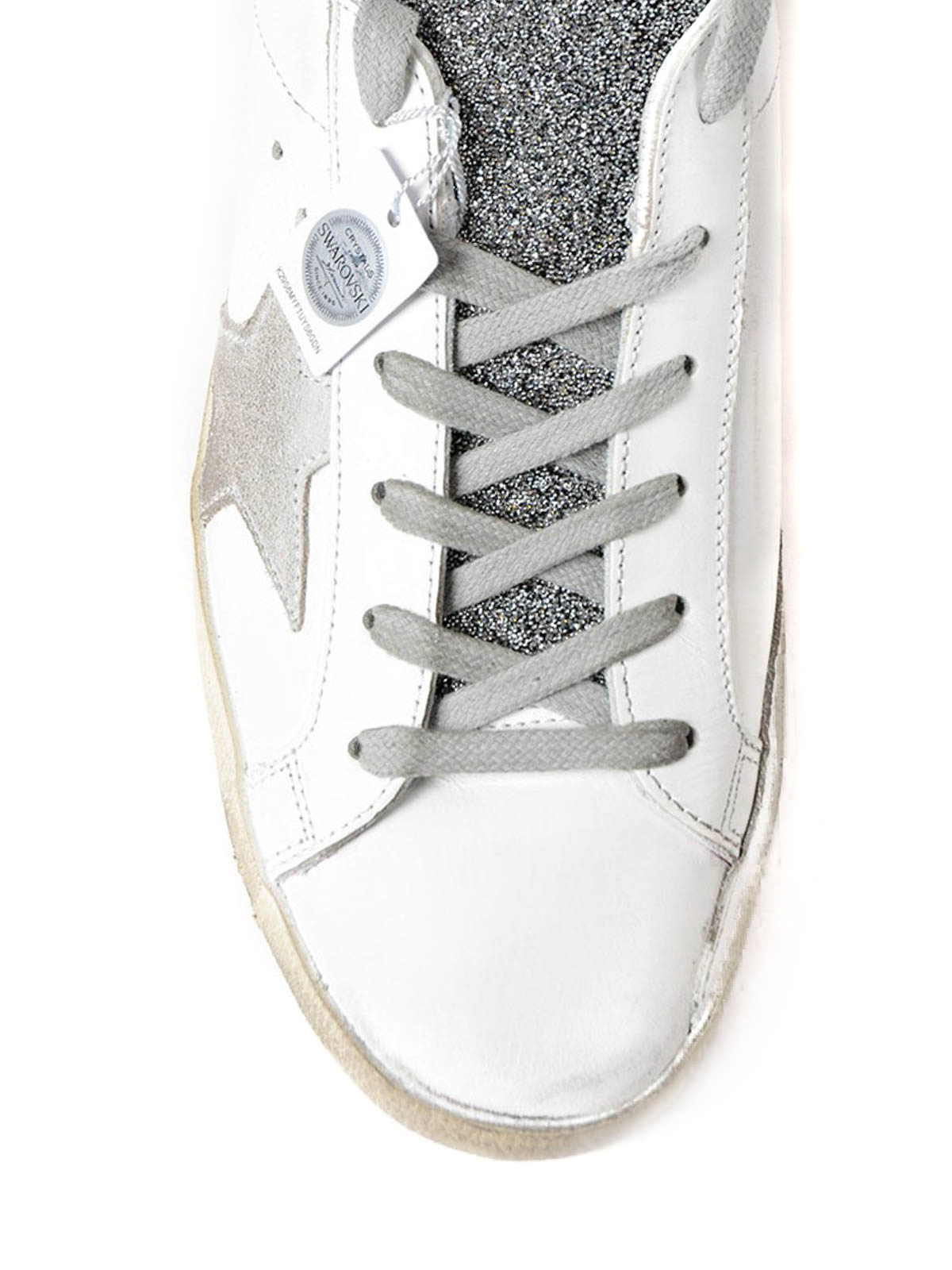 f0fa1b9cedf4 iKRIX GOLDEN GOOSE  trainers - Superstar crystal glitter sneakers