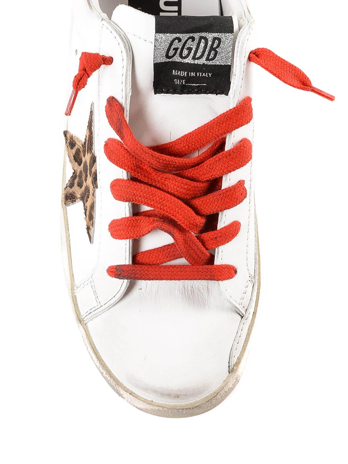 golden goose animal print scarpe