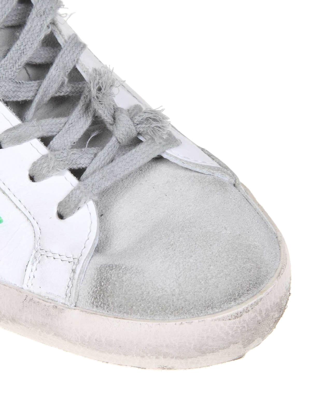 Golden Goose Sneaker Superstar effetto vintage sneakers