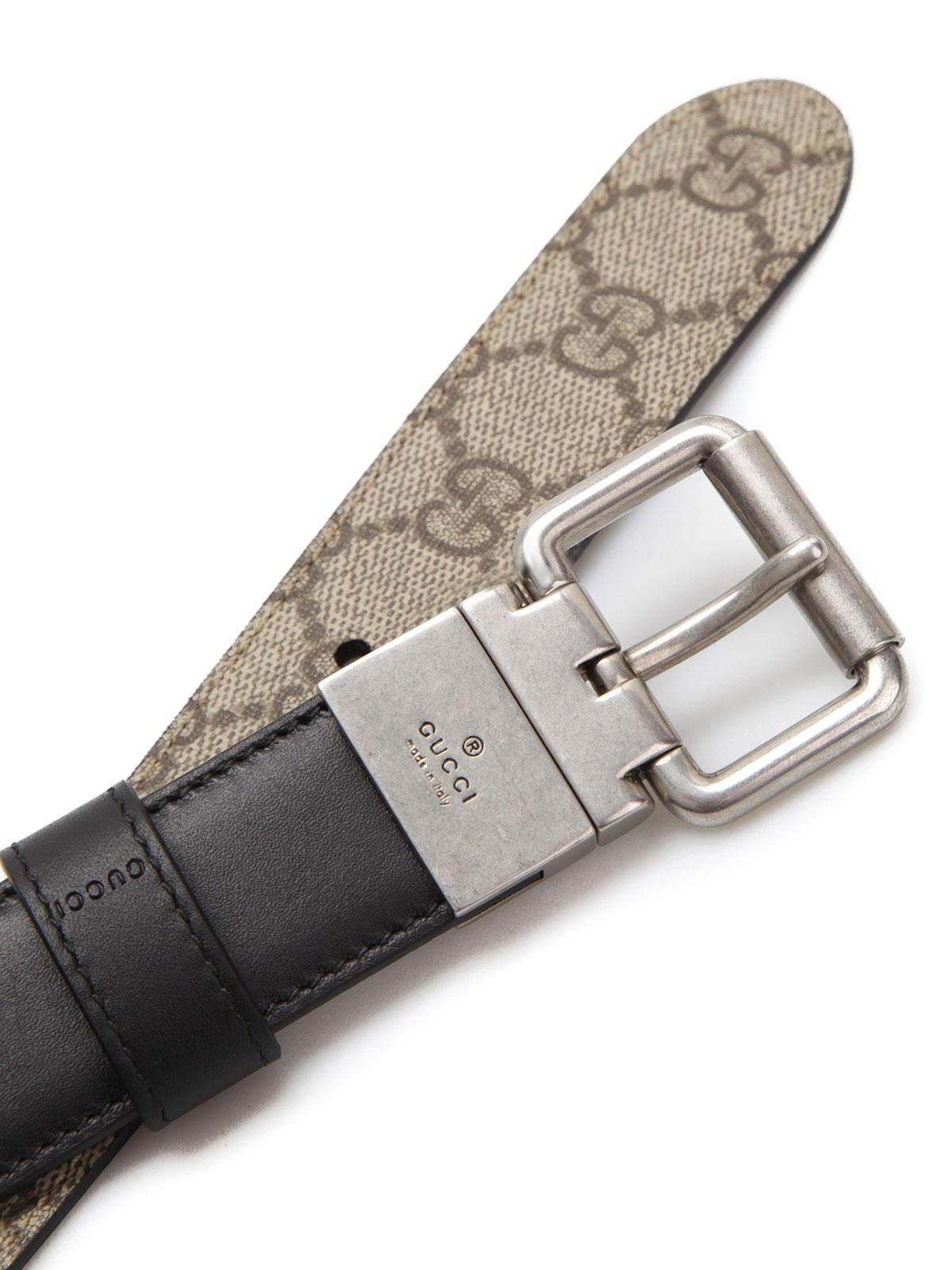199bf901a Gucci - Reversible GG Supreme belt - belts - 387035 BTTAN 8775 ...