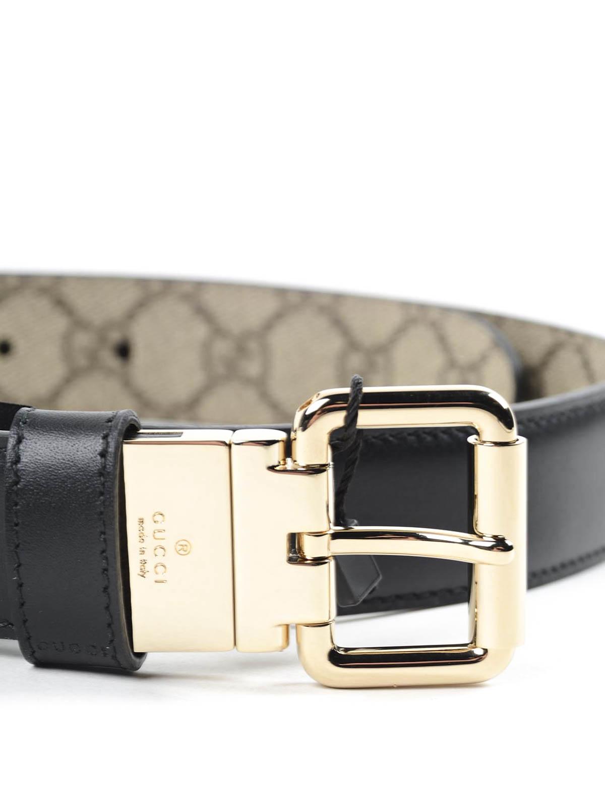 Gucci - Cinturón Negro Para Mujer - Cinturones - 391271BTTAG 8775 b21619a4945