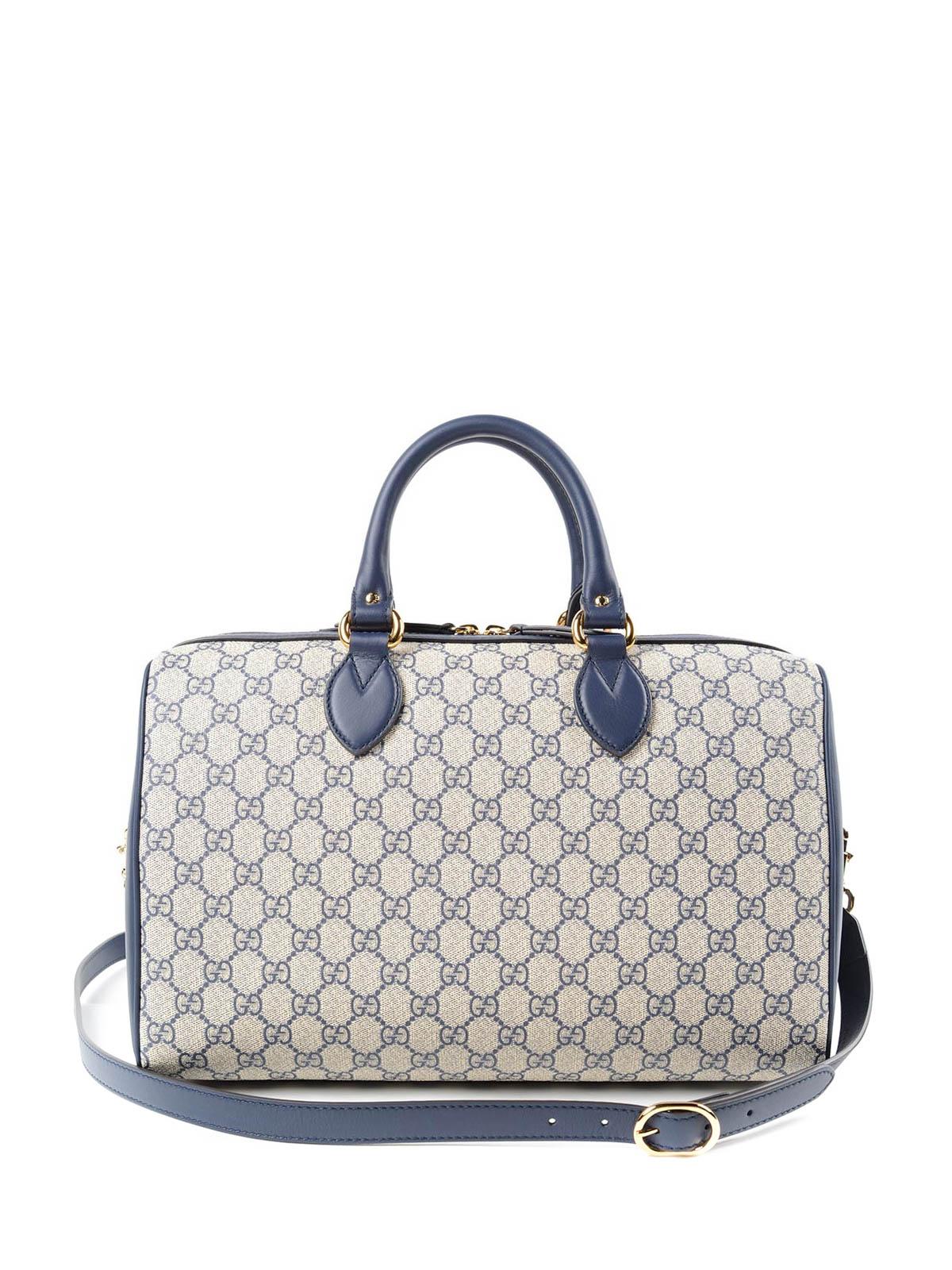 GG Supreme Fabric Bowling Bag By Gucci - Bowling Bags | IKRIX