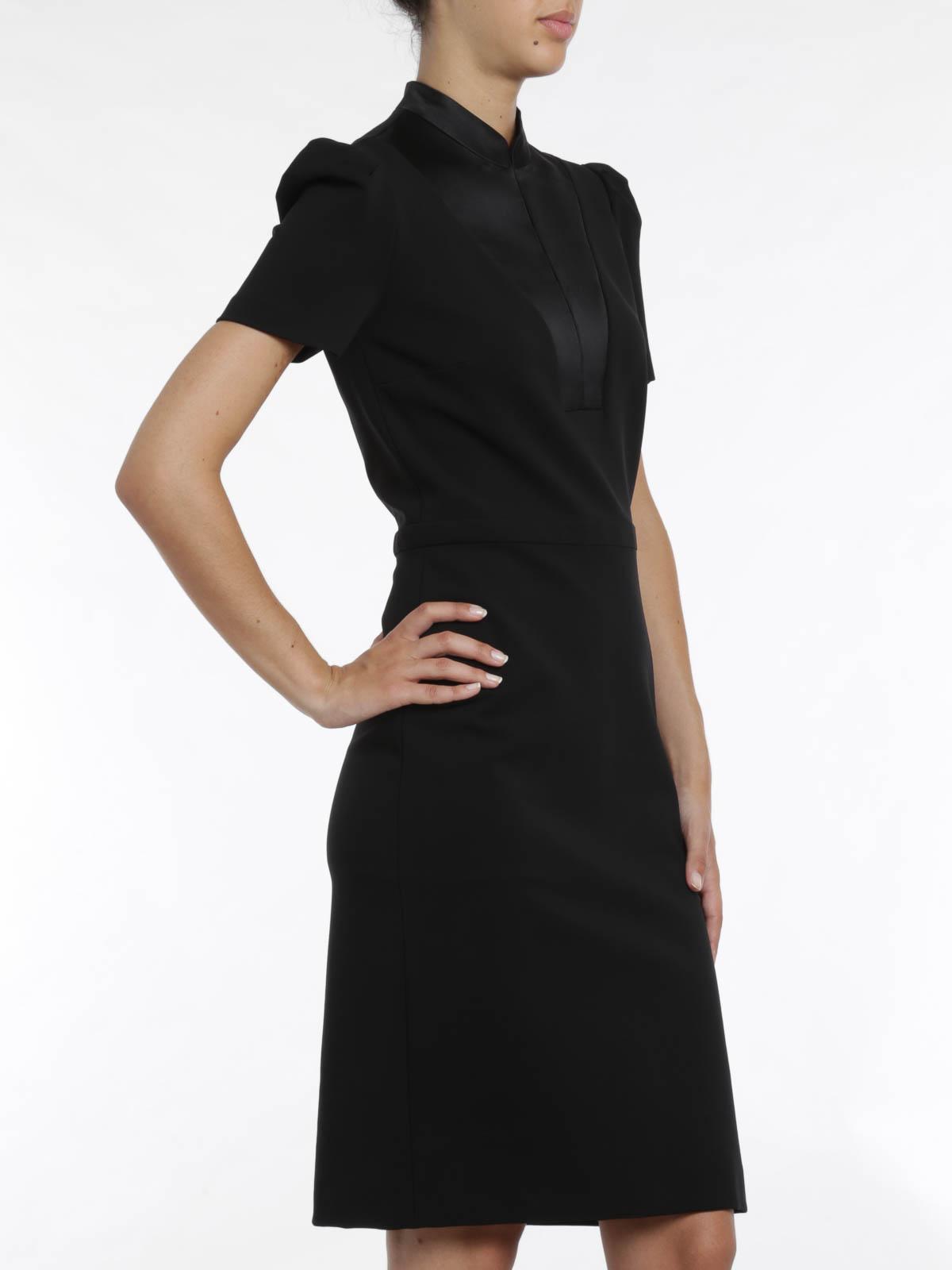 Brainy Mademoiselle: Mandarin Collar Dress   Mandarin Collar Cocktail Dress