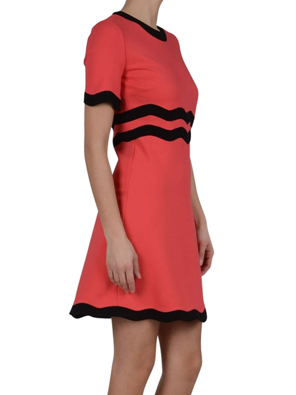 Scalloped edges jersey DRESSES von Gucci - Cocktailkleider | iKRIX
