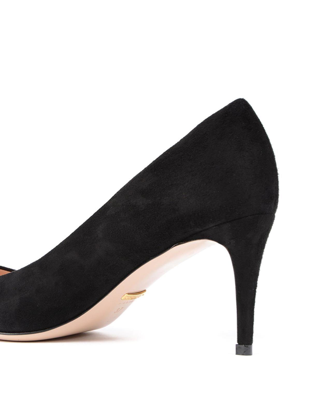 Gucci - Mid stiletto heel suede pumps