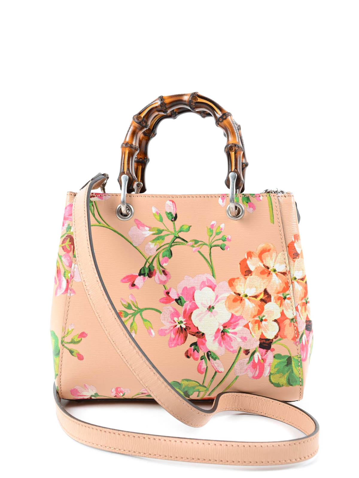 133d73619540 Gucci - Blooms bamboo mini shopper - cross body bags - 368823 CWB1N 5770
