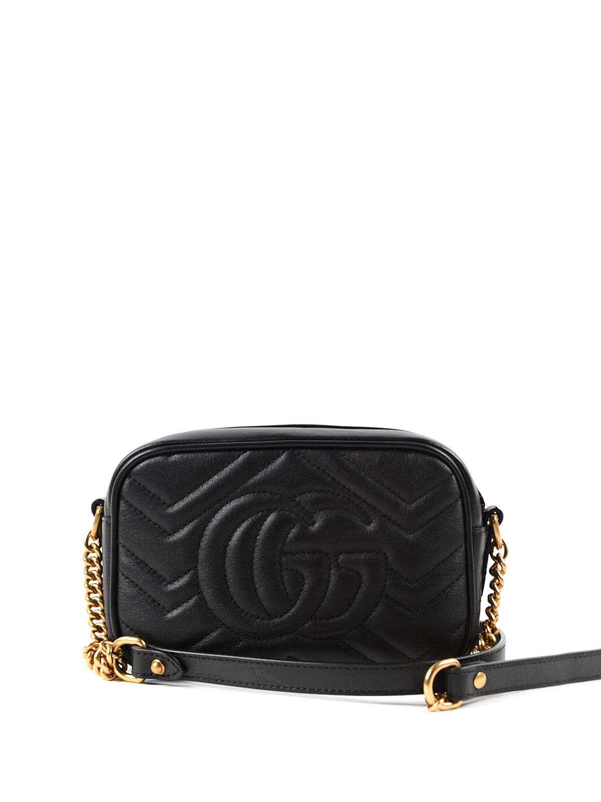 16effcff160471 iKRIX GUCCI: cross body bags - GG Marmont matelassé chain mini bag