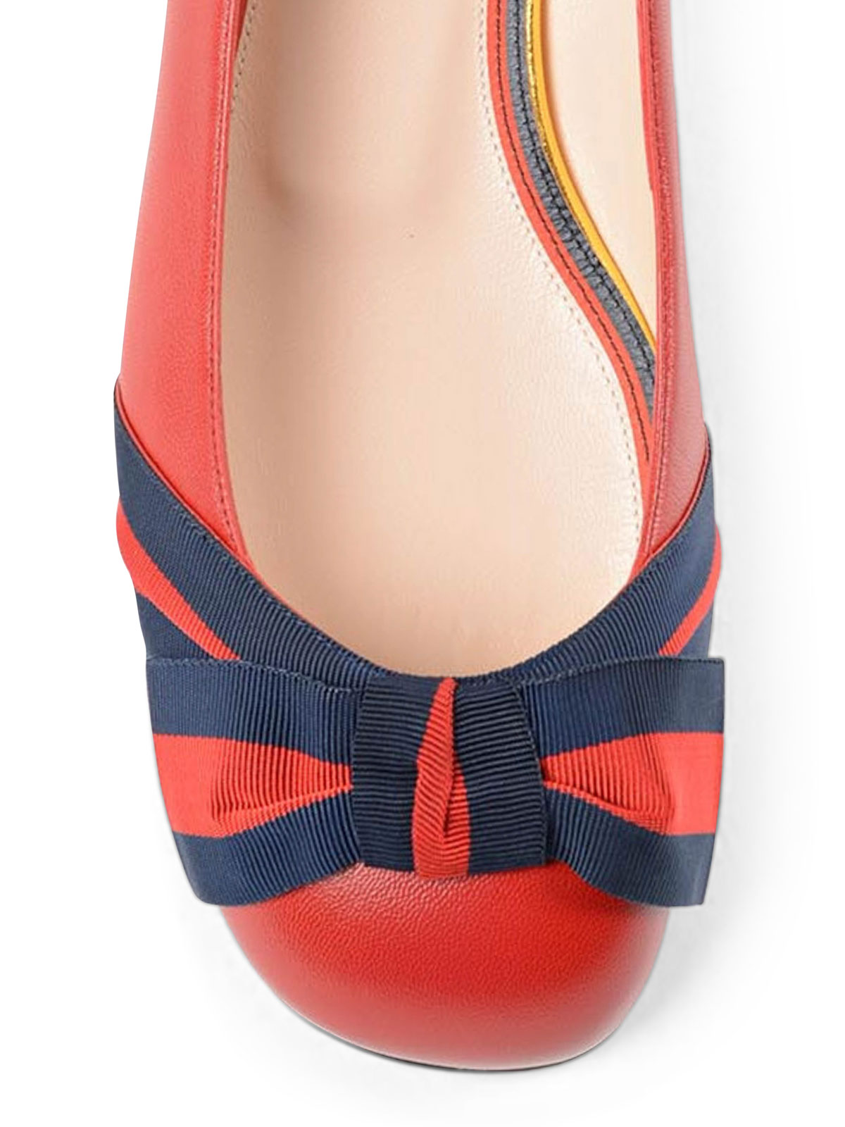 Web bow detailed flats - flat shoes