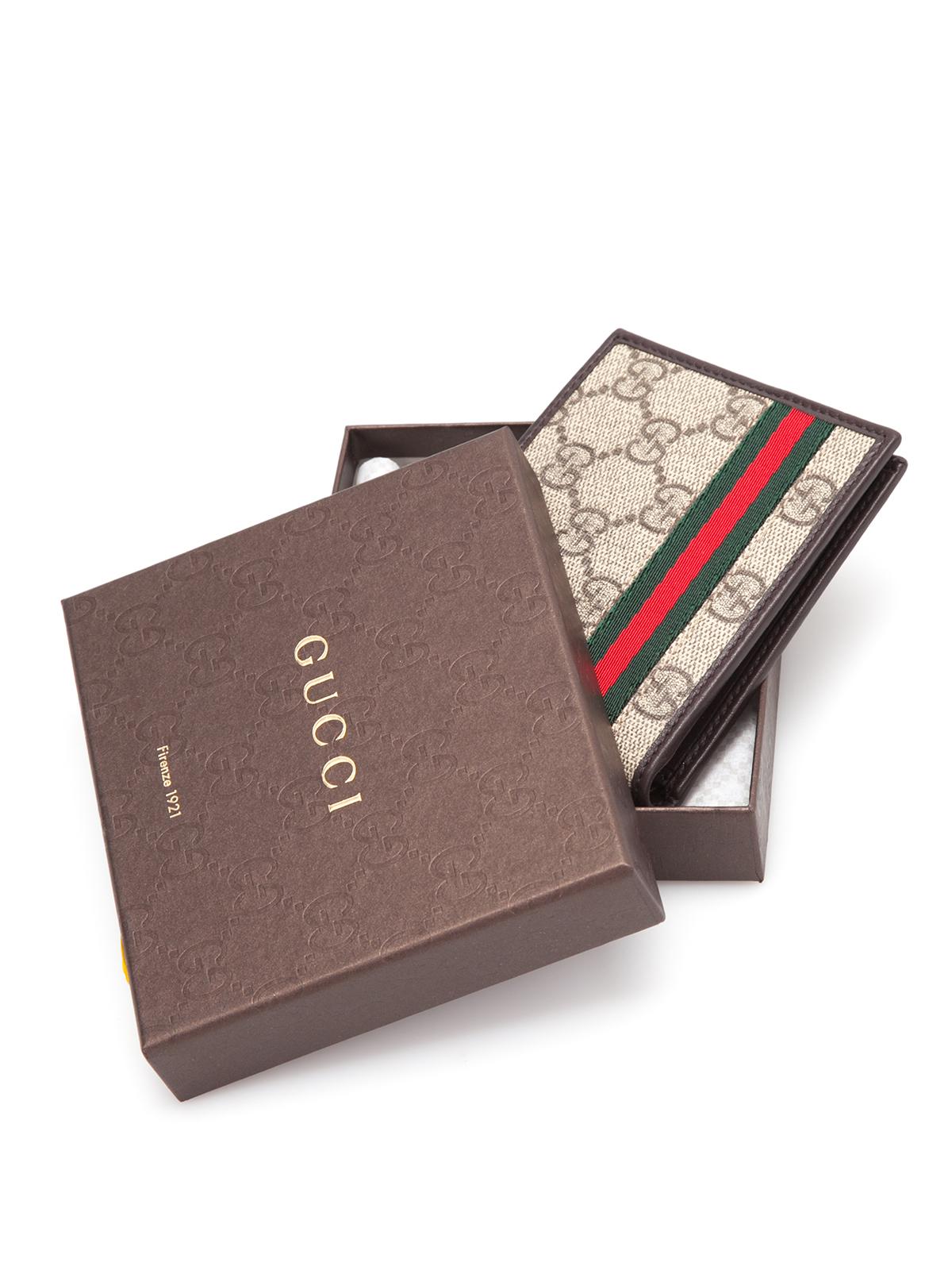 0bd625e8bb0 Gucci Gg Supreme Wallet