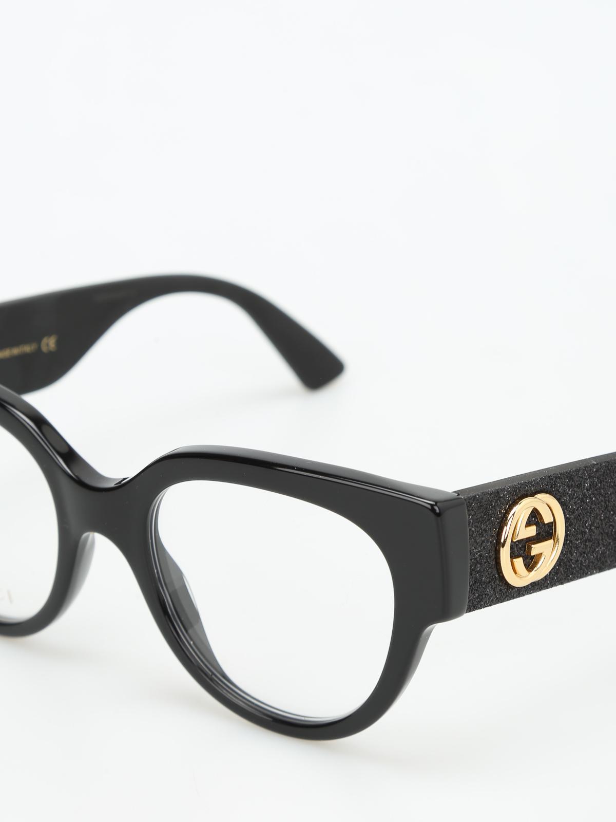 Brillen Fur Unisex - Schwarz von Gucci - Brillen | iKRIX - GG0103O1