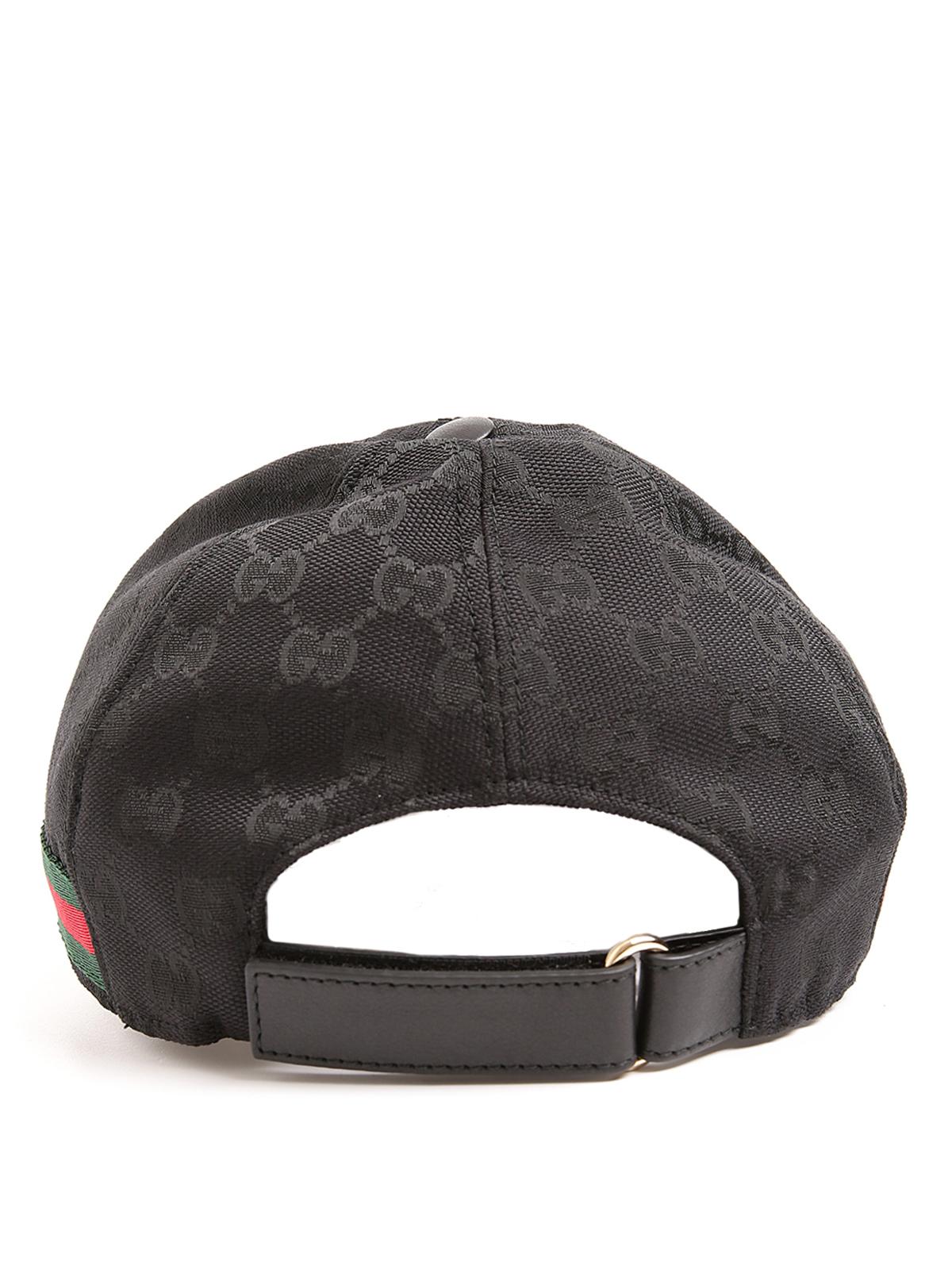95e515854fe0a Gucci Gg Supreme Bee Hat Baseball Rap 426887 4HB12 - 2160 DK BROWN BLACK  black gucci hat