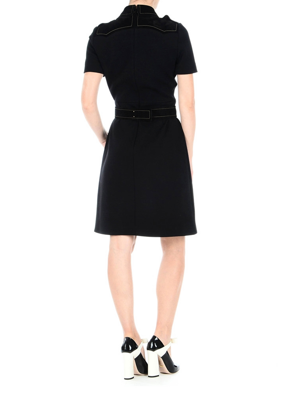 1d7b713e5 iKRIX GUCCI: knee length dresses - Tiger details chemisier dress