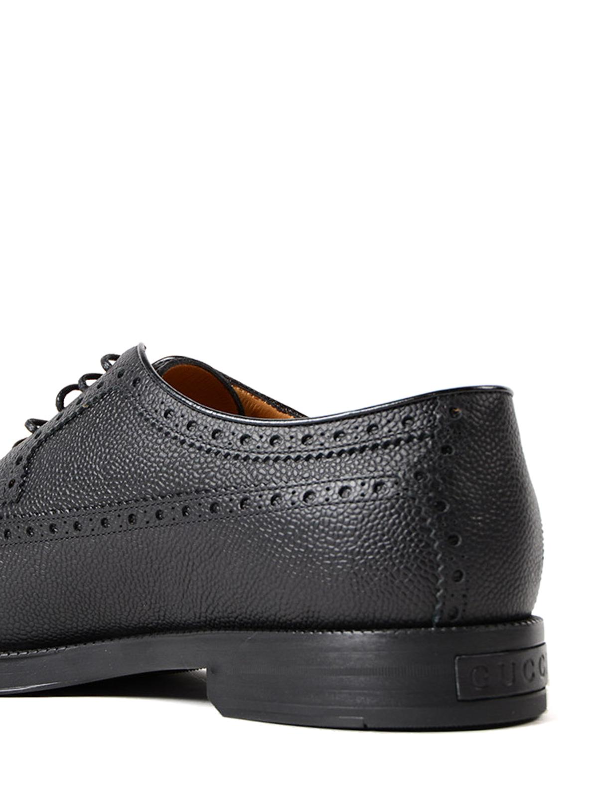 iKRIX GUCCI  Zapatos con cordones - Zapatos Con Cordones - Negro a2da34fd137