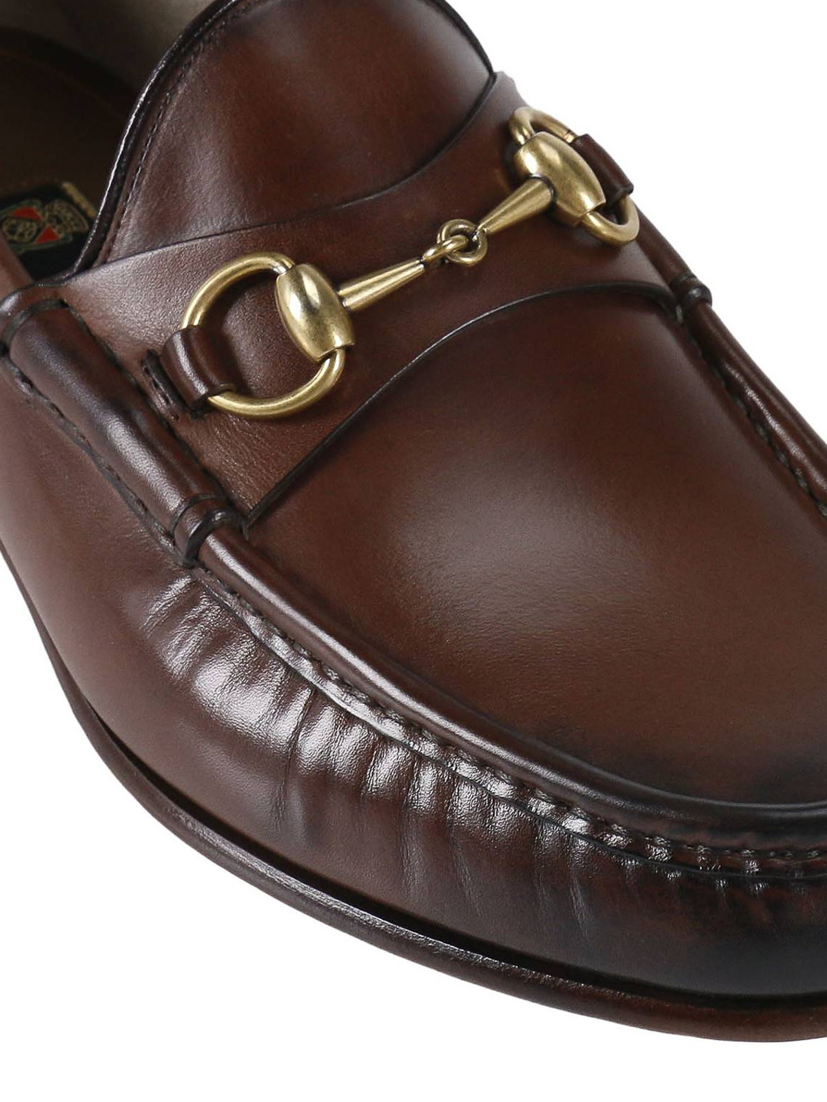 Gucci - 1953 horsebit leather loafers