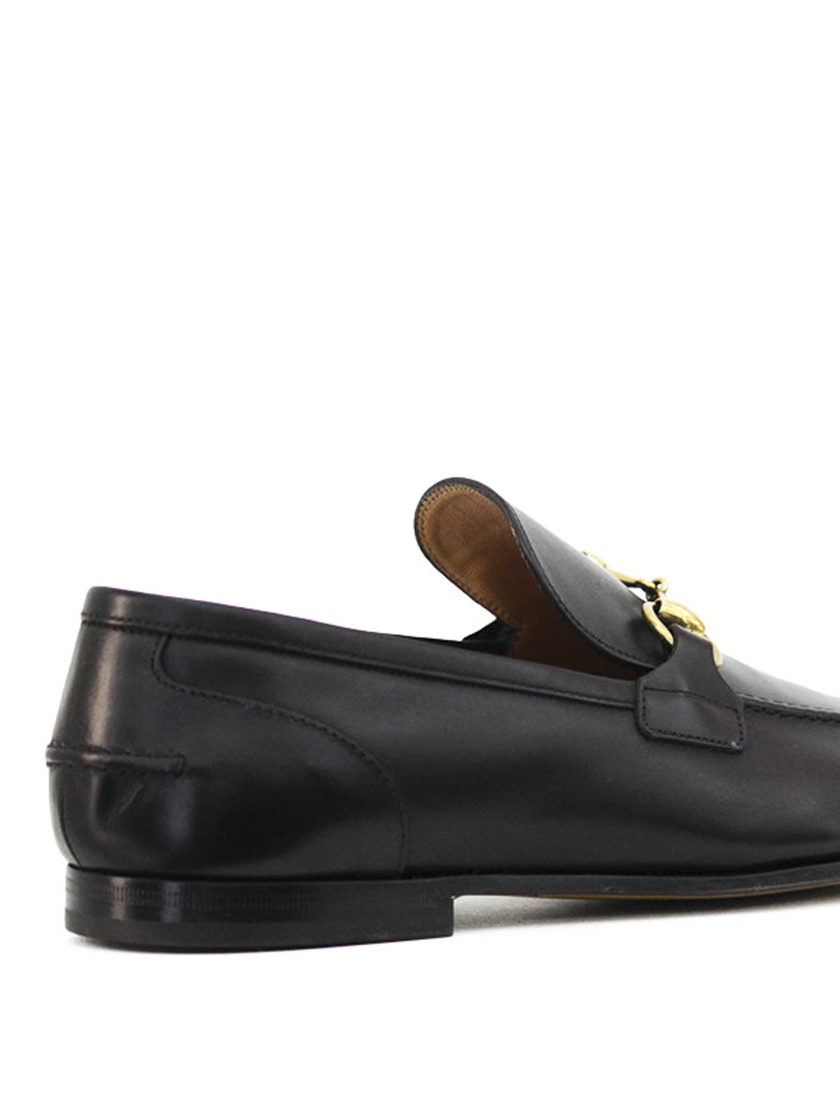35deff274a1 Gucci - Leather horsebit loafers - Loafers   Slippers - 406994 BLM00 ...