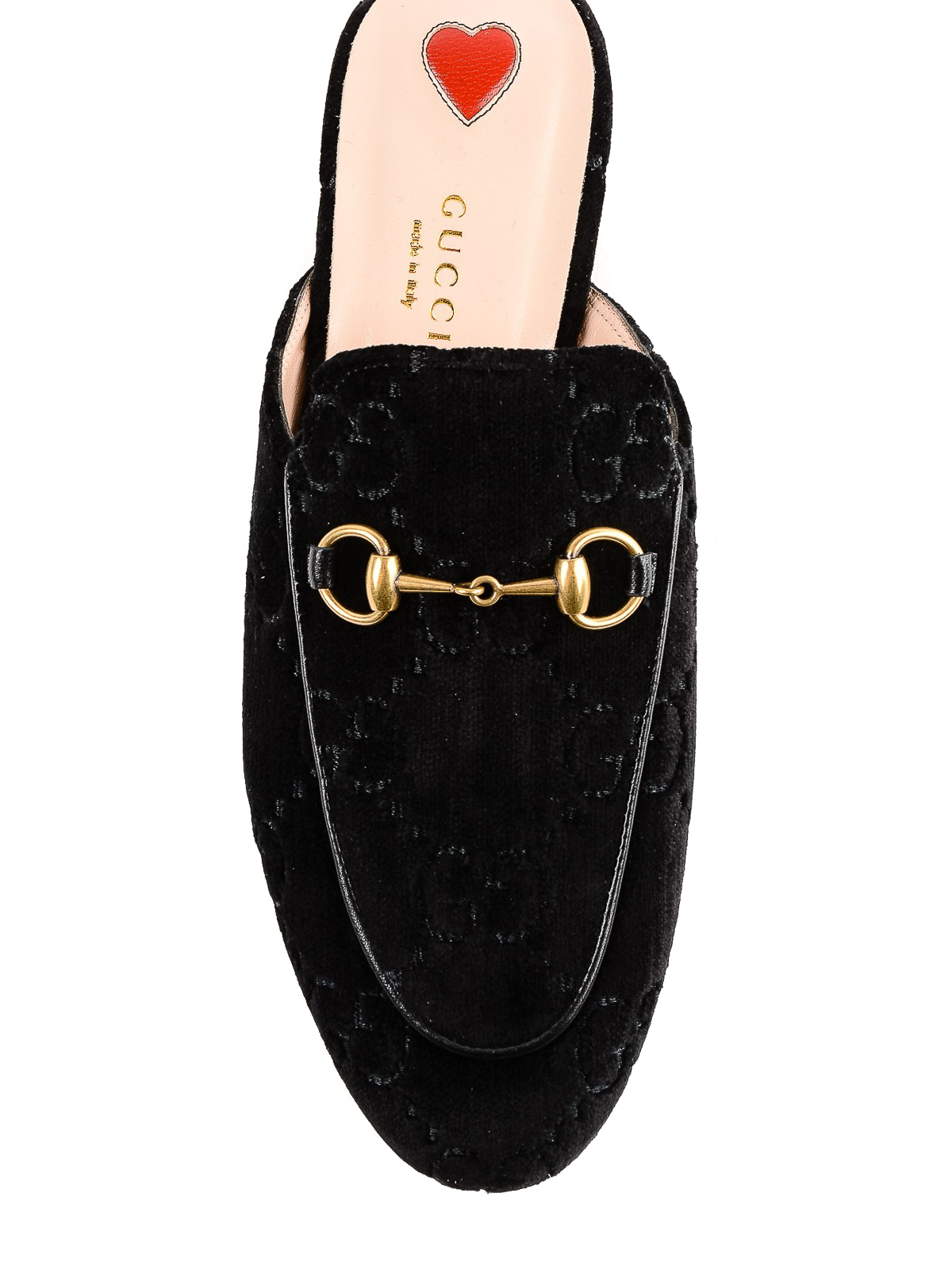 c0914ae6f173 iKRIX GUCCI  Loafers   Slippers - Princetown GG black velvet slippers