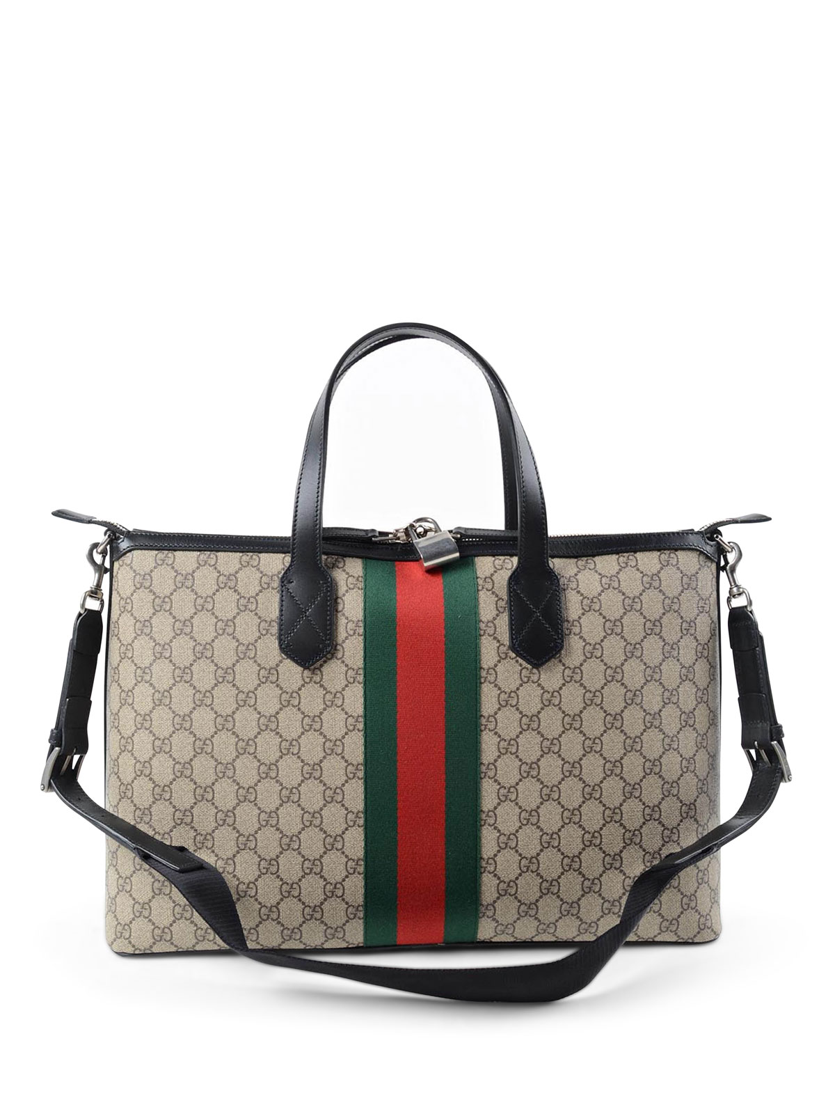 cacf2bd25 iKRIX GUCCI: Luggage & Travel bags - GG Supreme canvas duffle bag