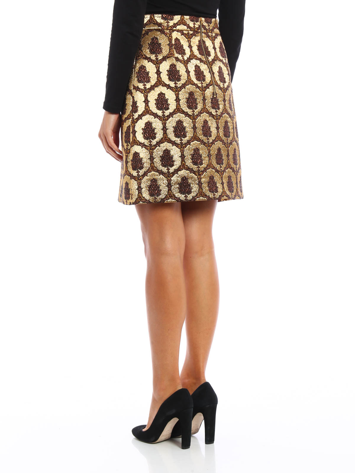 Brocade a line skirt by gucci mini skirts ikrix ikrix gucci mini skirts brocade a line skirt xflitez Image collections