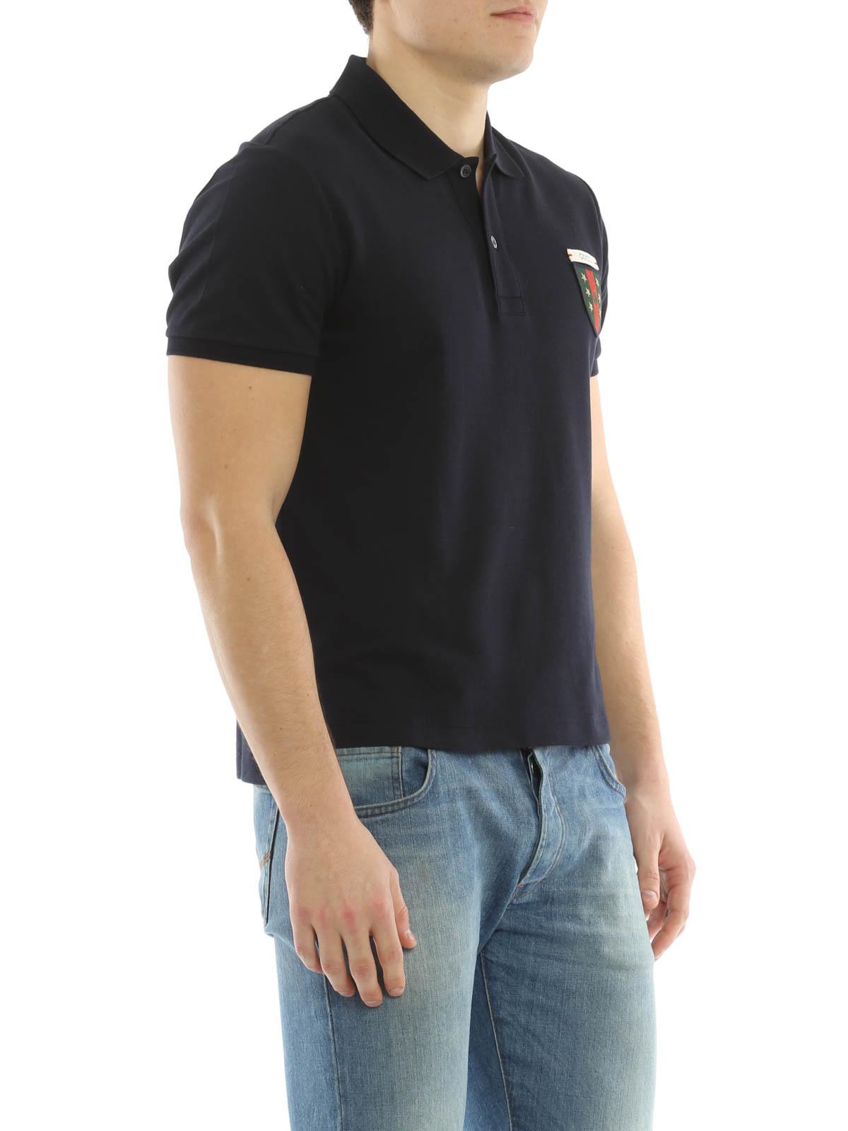 530d7cf6ce0e Gucci - Logo patch polo shirt - polo shirts - 408322 X7333 4440