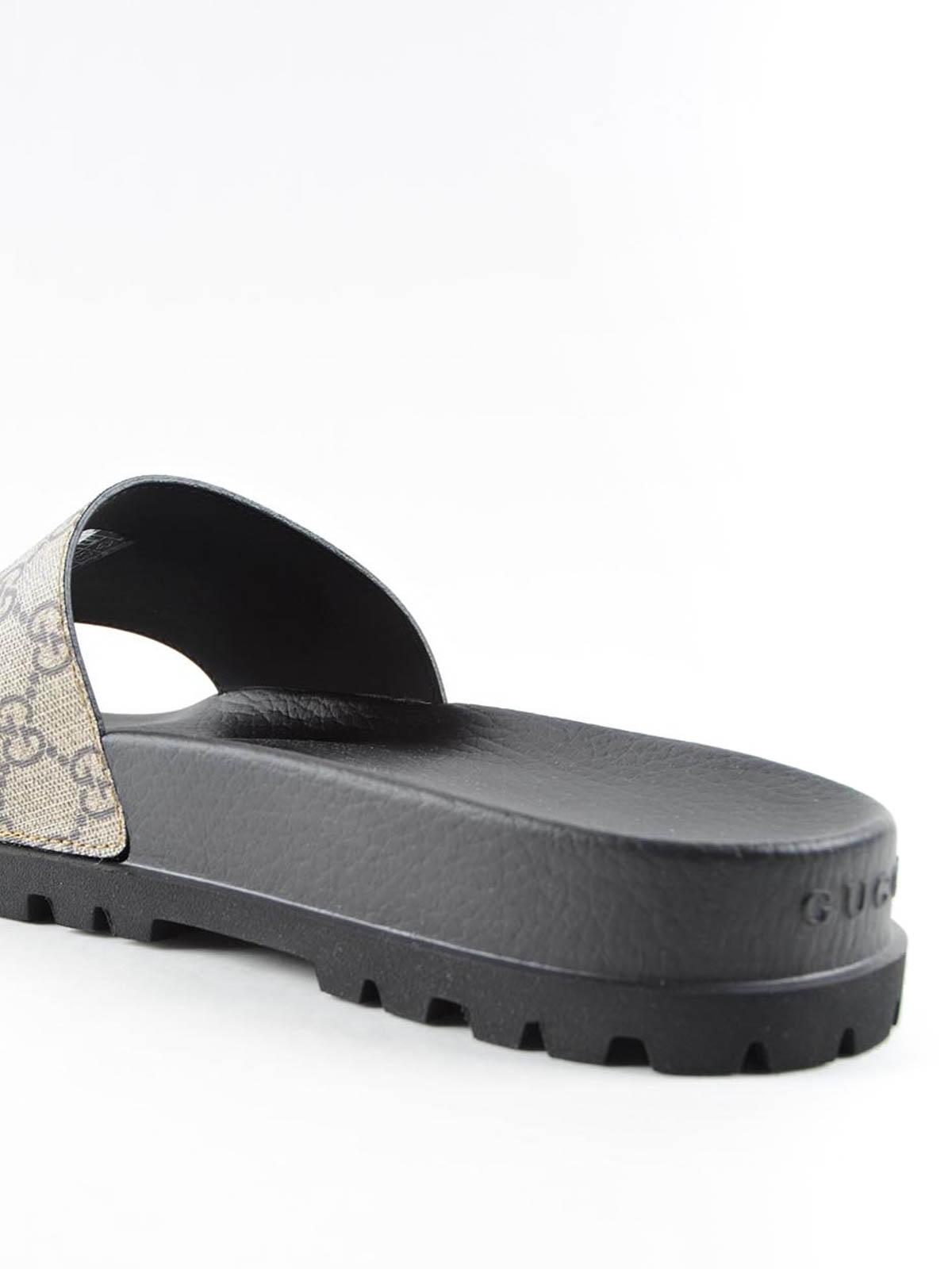 Gucci Bee Flat Sandals Sandals 456243k5v00 8919
