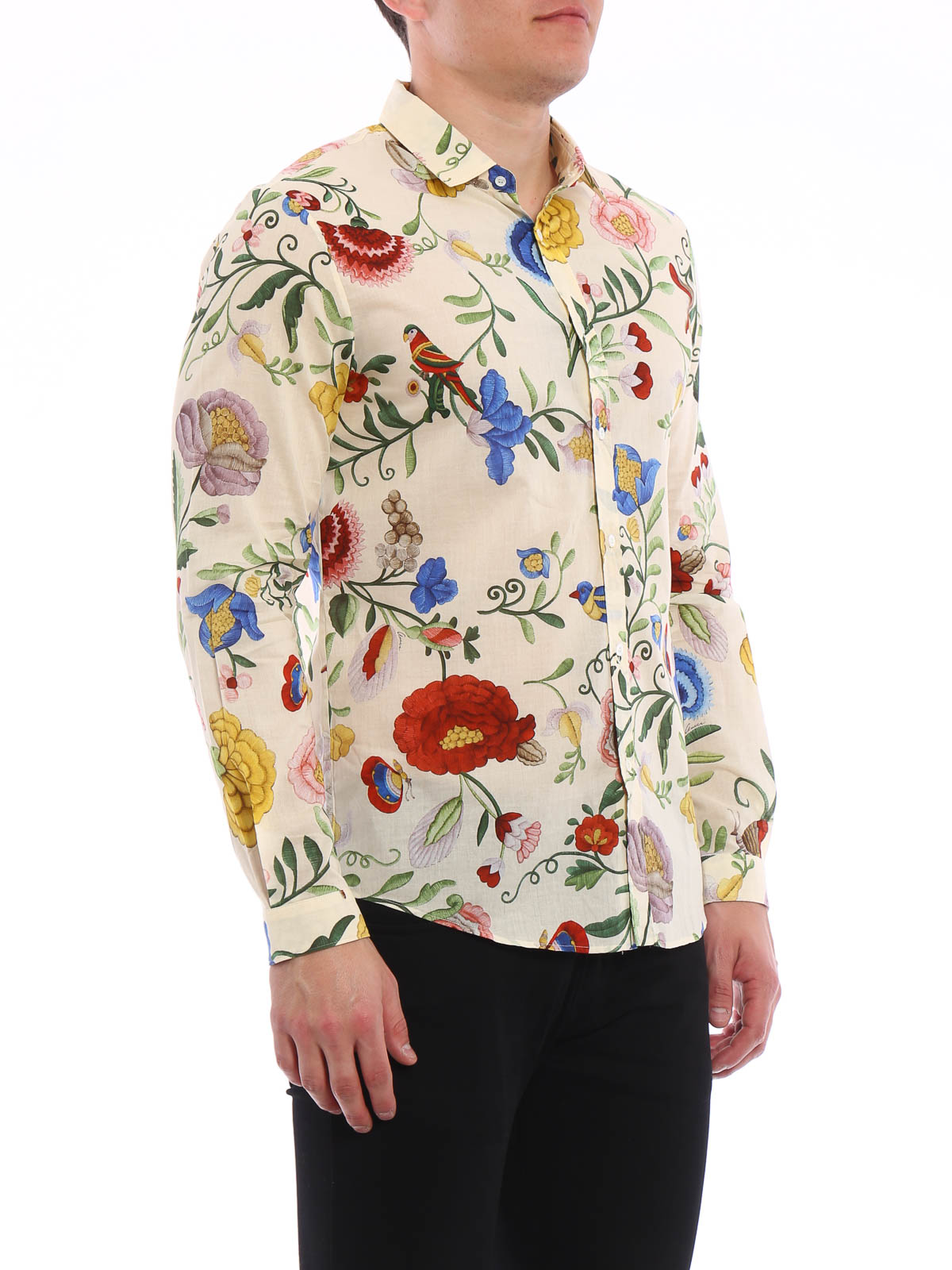 Gucci - Camisa Duke - Multicolor - Camisas - MJ9 408602 Z326A 9275 36602761d74