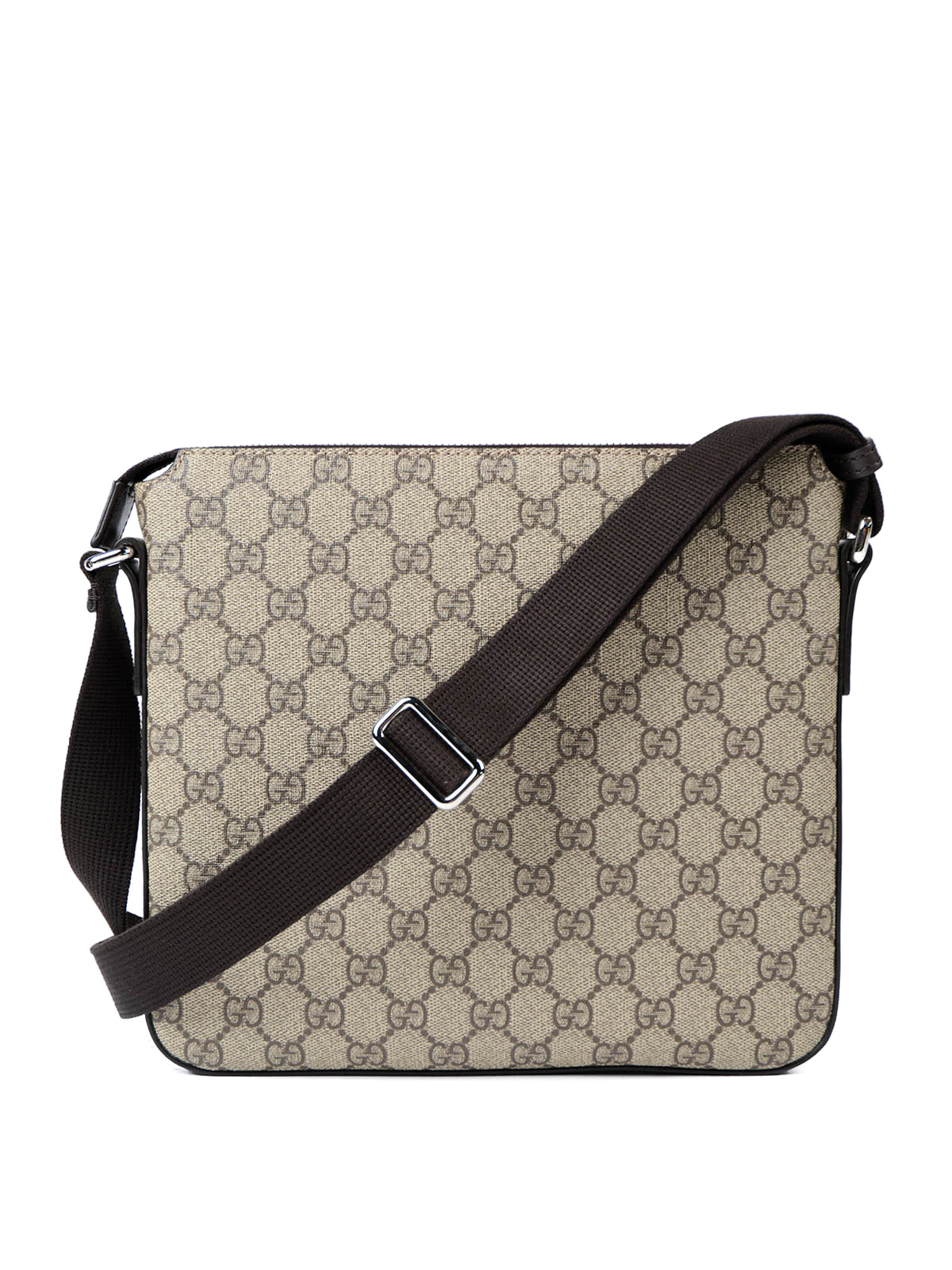 3201ee7b8 Gucci - GG Supreme canvas messenger bag - shoulder bags - 406410 ...