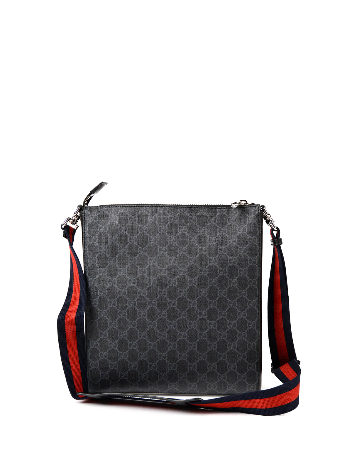 0c085e79796621 Gucci - GG Supreme canvas messenger bag - shoulder bags - 474137 ...