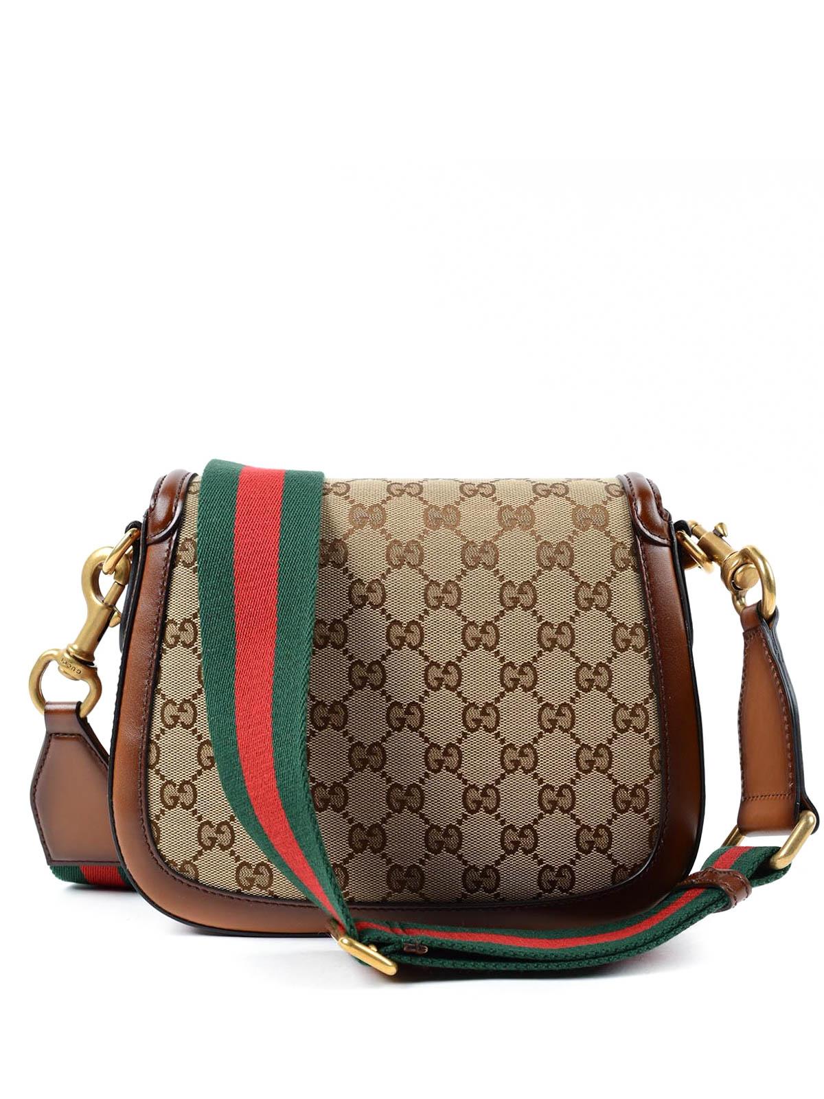 Gucci - Lady Web Original GG canvas bag - Bolsos de hombro - 383848 ... 7c449fea690
