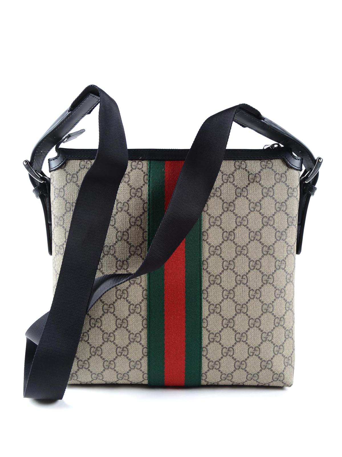 Gucci - Original GG canvas Web messenger - shoulder bags - 387111 ... 1826963c1c