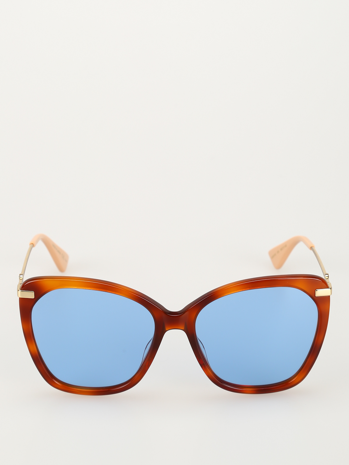 ddaee8bdea04 Gucci - Blue lens havana over sunglasses - sunglasses - GG0510S005