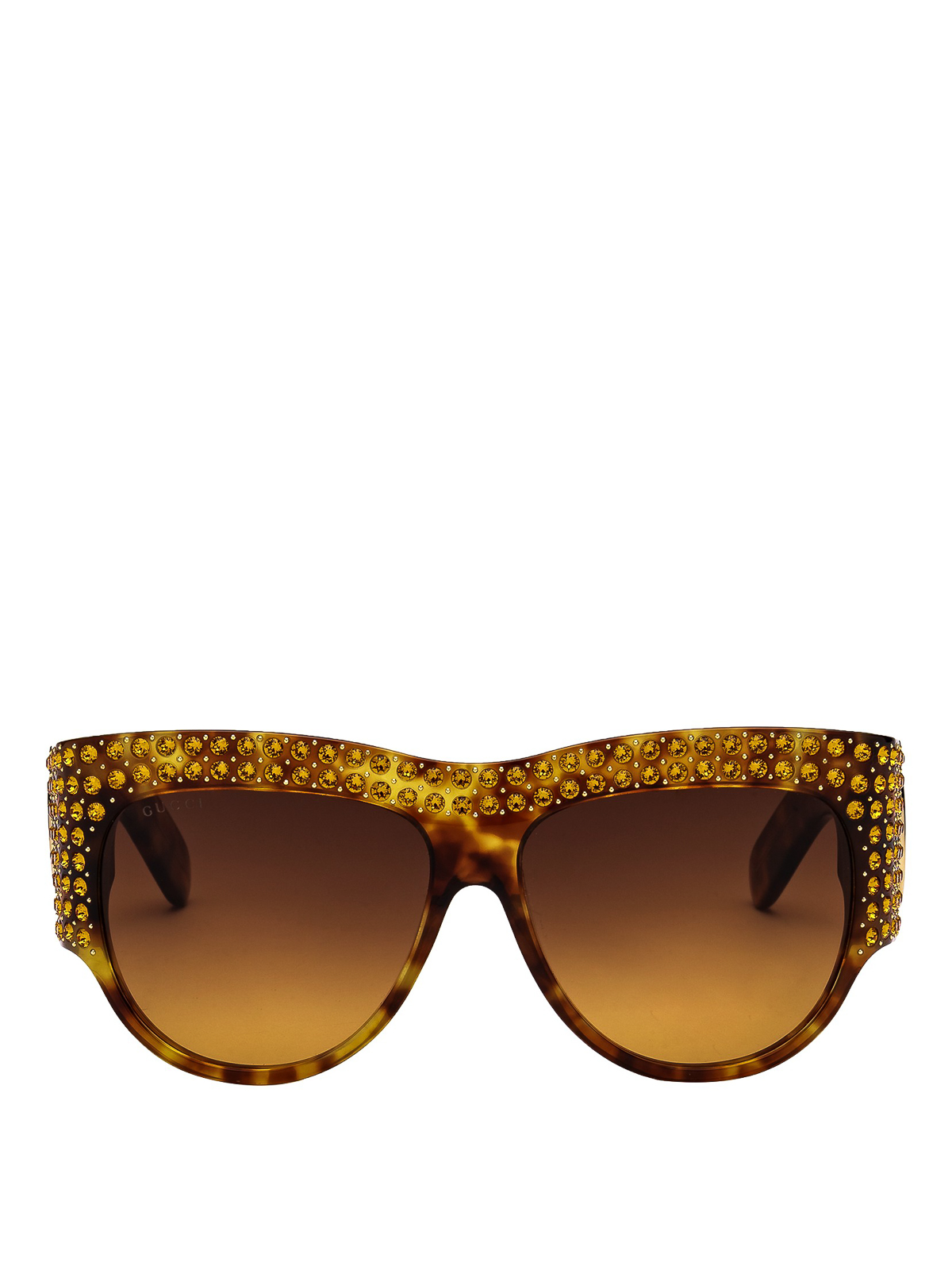 0d03480517 Gucci - Crystal embellished over sunglasses - sunglasses - GG0144S C003