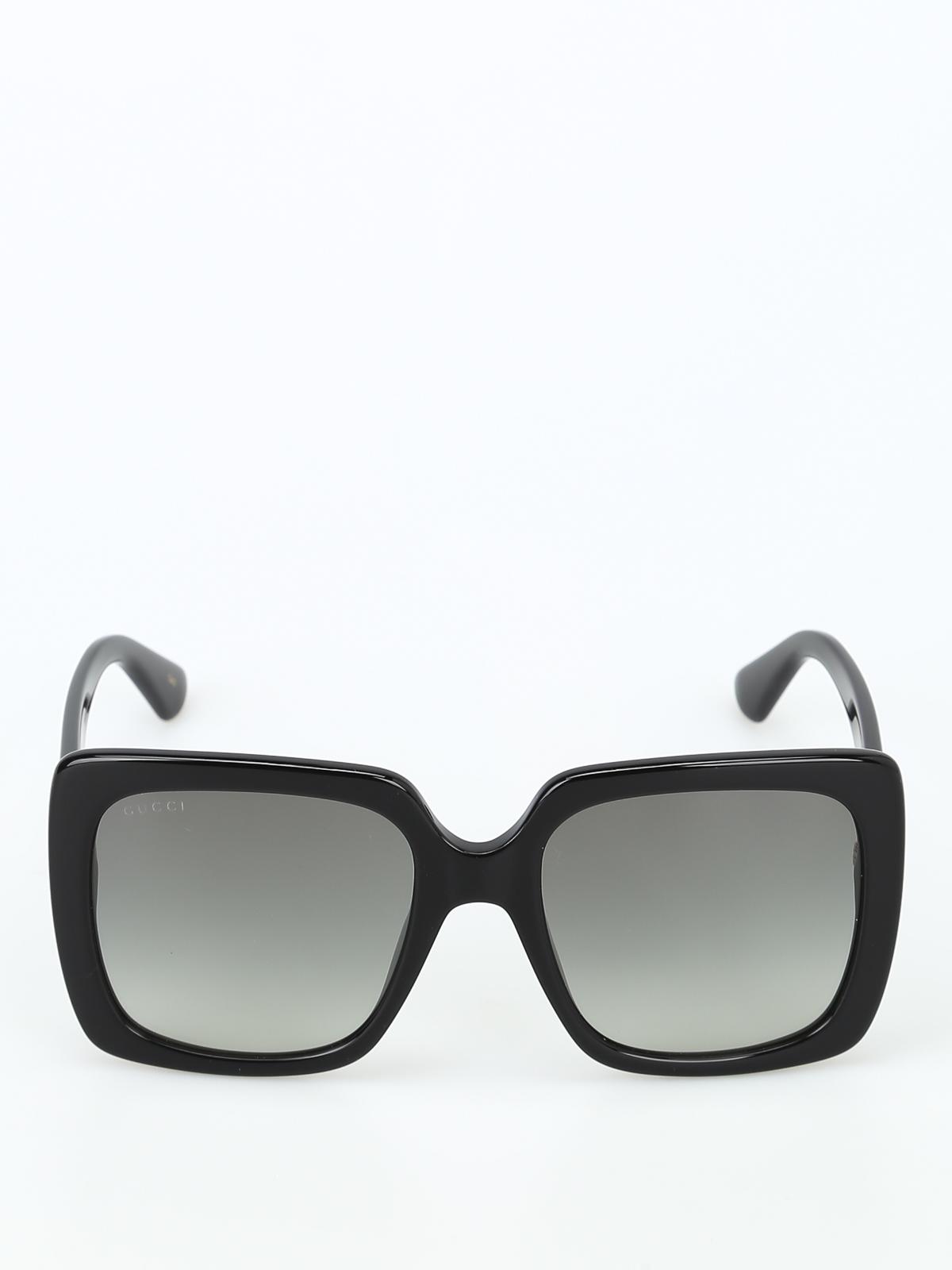 6ede55c9c3497 Gucci - Crystal logo acetate sunglasses - sunglasses - GG0418S001