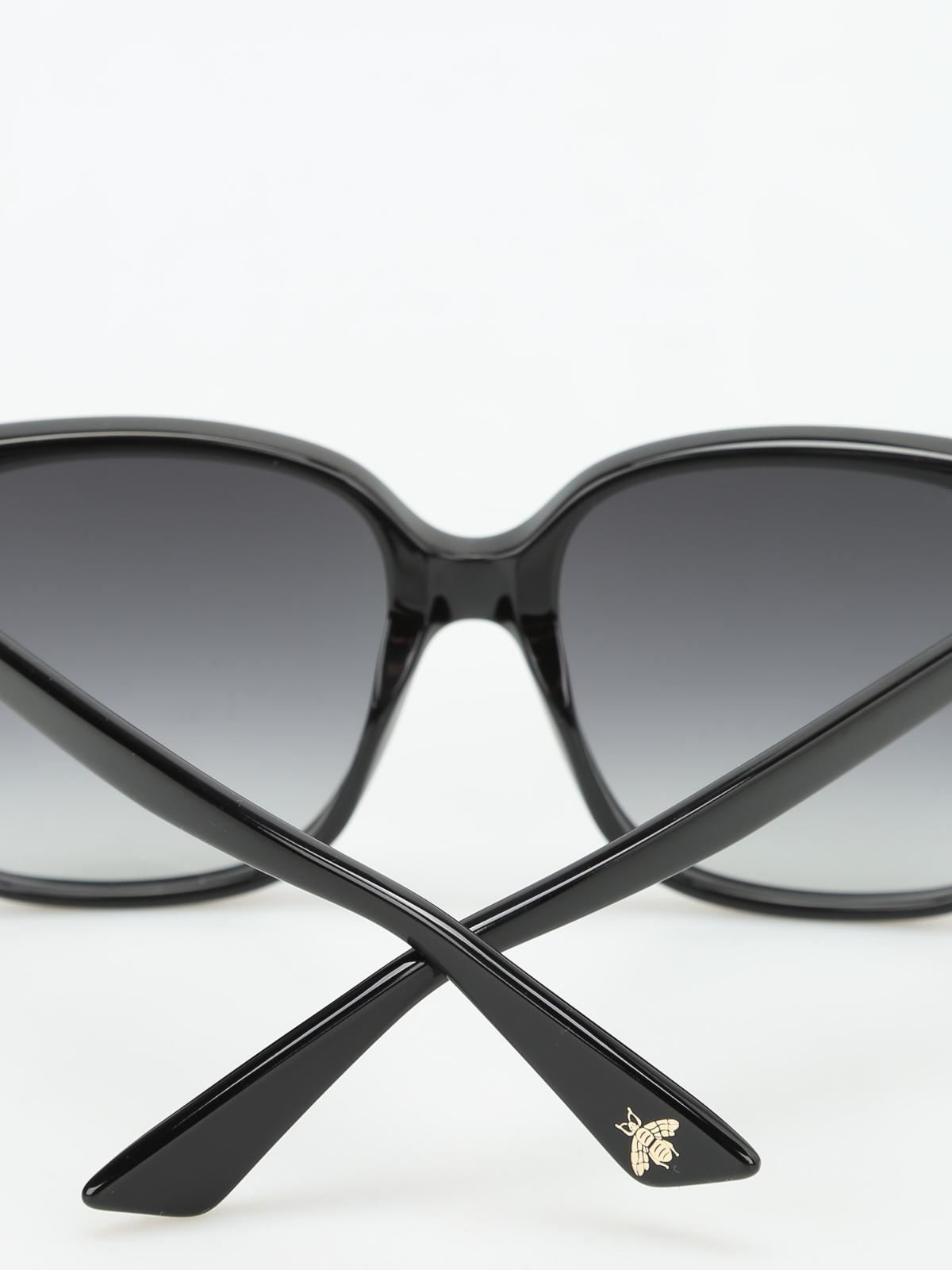 1269132a3a16f Gucci - GG detail square sunglasses - sunglasses - GG0022S1