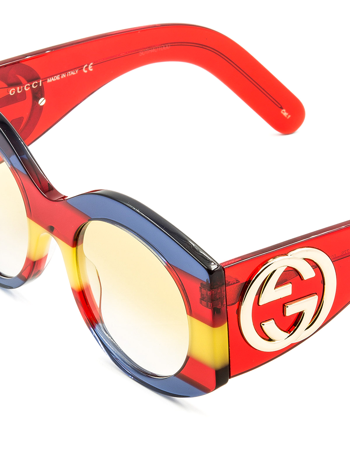 81bfba6fd Gucci - Rainbow acetate sunglasses - sunglasses - GG0177S2 | iKRIX.com