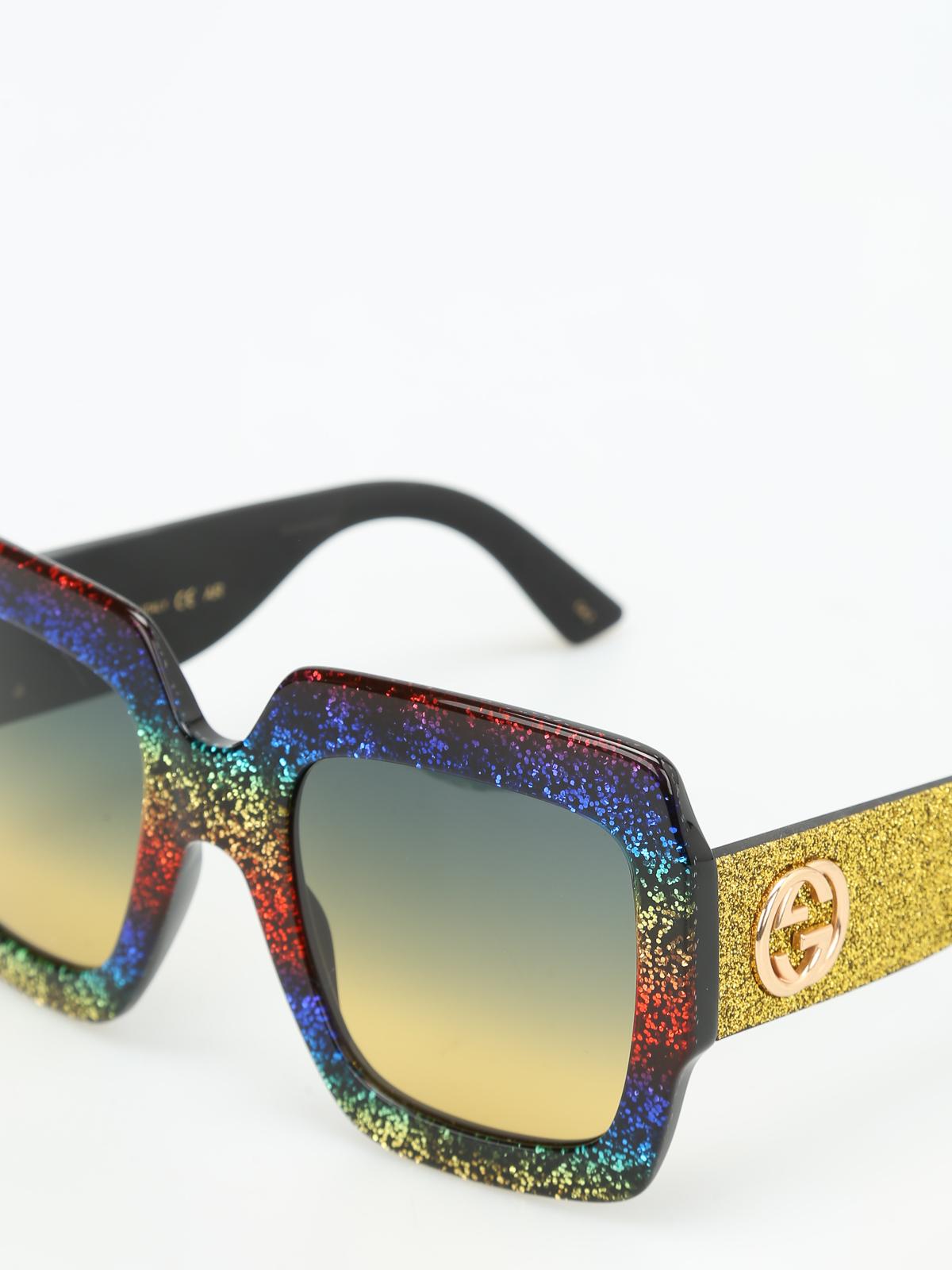 ikrix gucci sonnenbrillen sonnenbrille fur unisex bunt