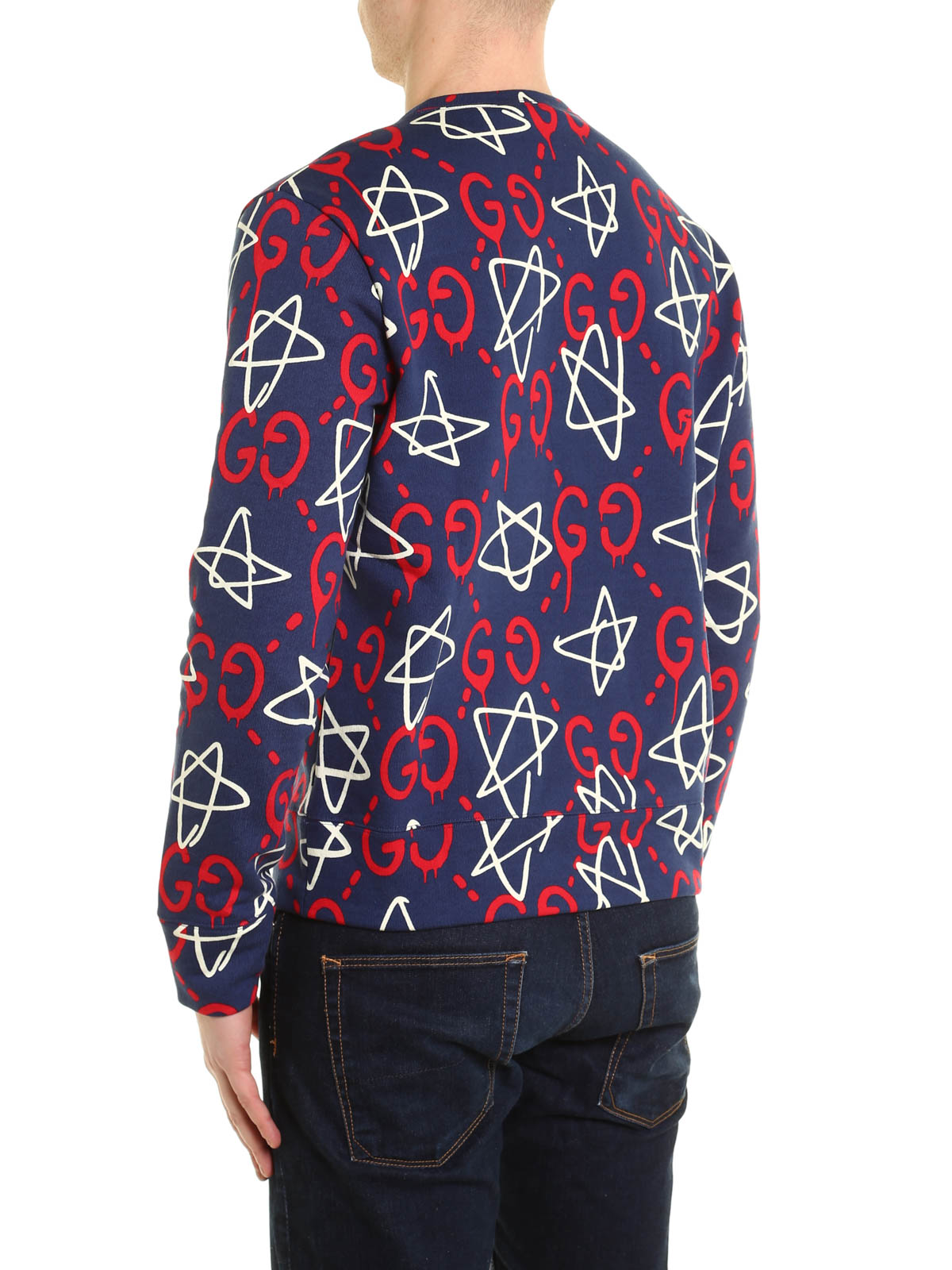 ec2514ccf6da8 iKRIX GUCCI  Sweatshirts   Sweaters - GucciGhost print sweatshirt