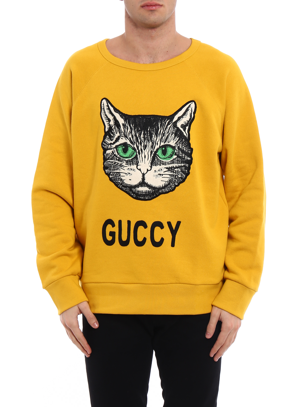 6f28d326547 iKRIX GUCCI  Sweatshirts   Sweaters - Guccy embroidered cotton sweatshirt