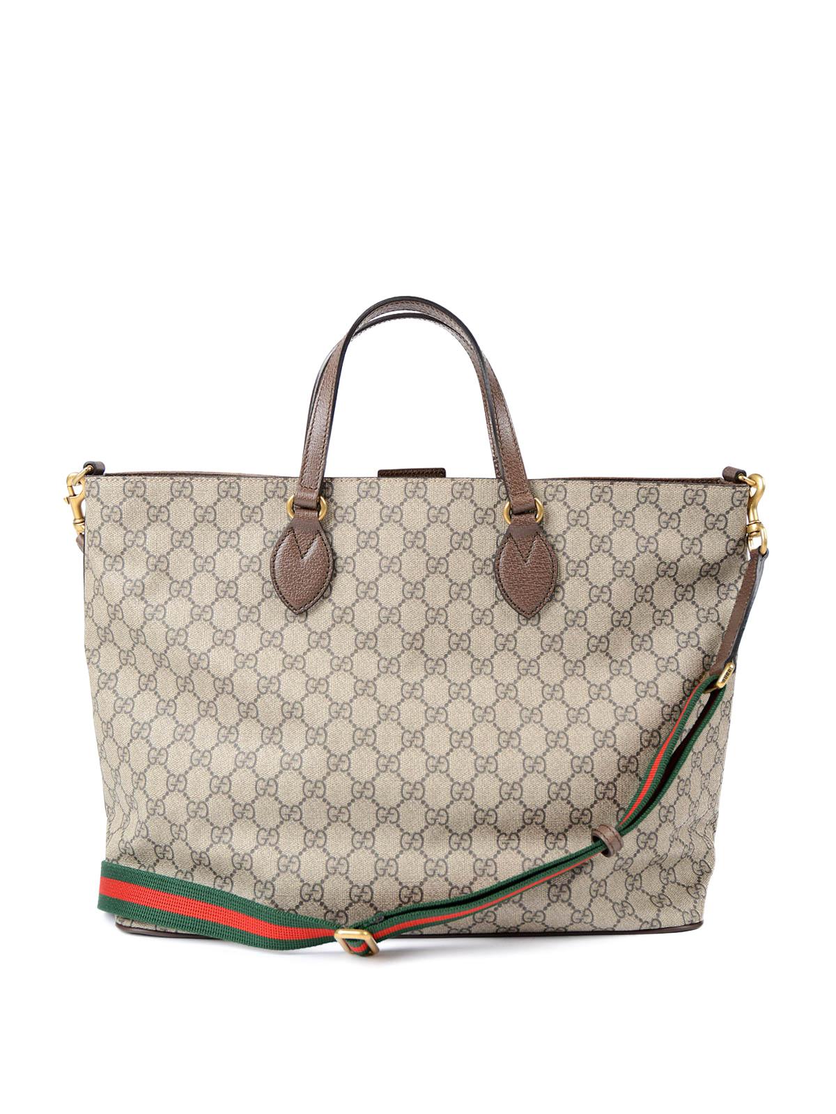 a6e281b1bf24 Gucci - Courrier GG canvas shopping bag - totes bags - 474085 K9RNT 8967