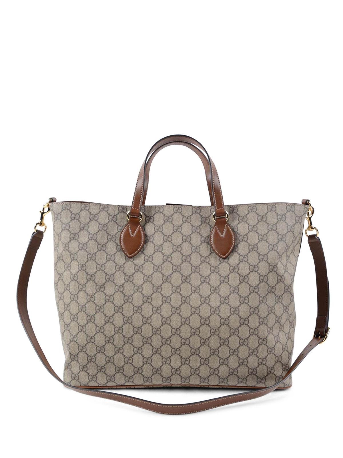 4943cb2e71e Gucci - GG Supreme canvas tote bag - totes bags - 453705K5I2G 8526