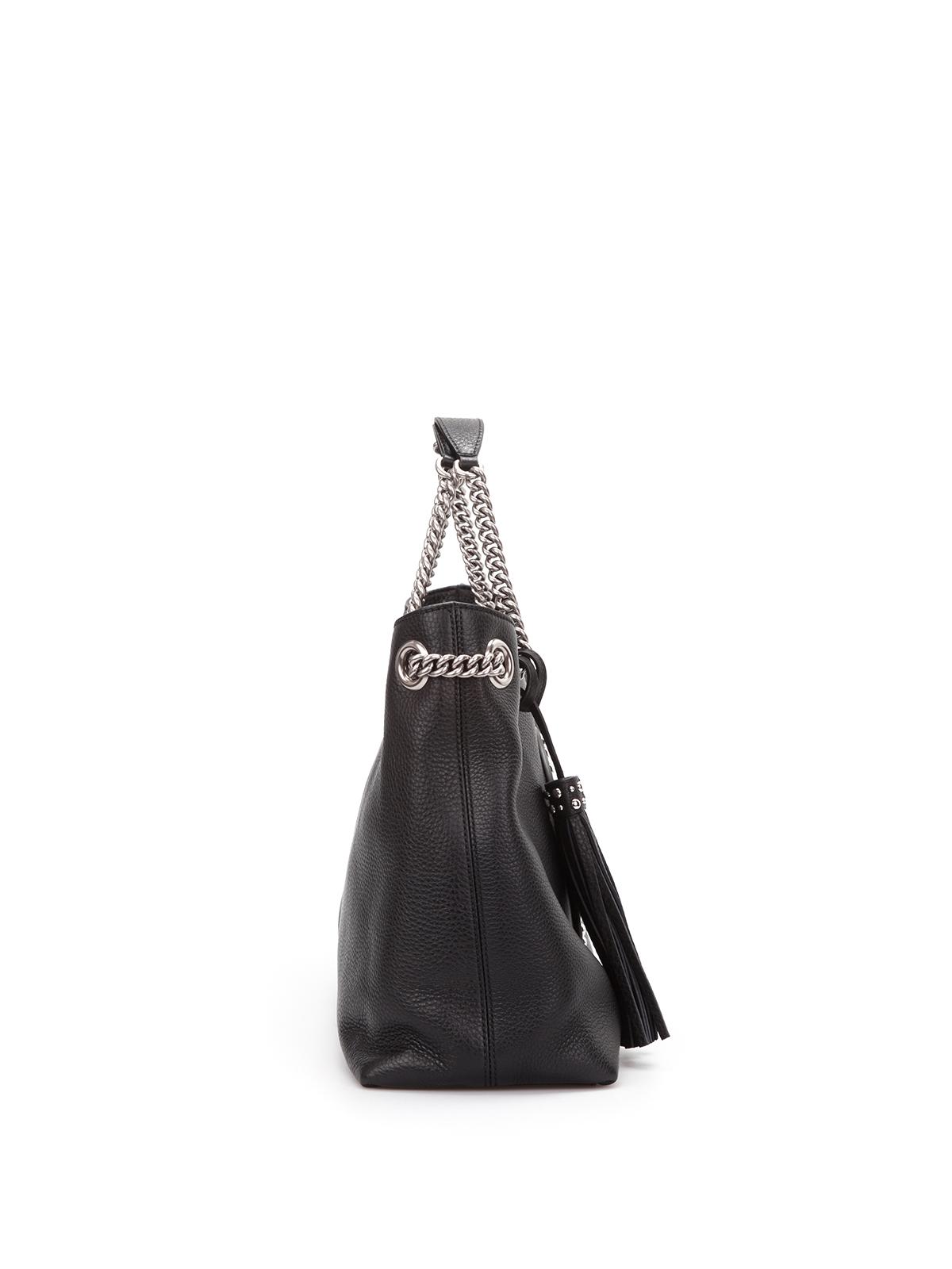 cf1f5f62949e Gucci - Soho studded leather shoulder bag - totes bags - 308982 ...