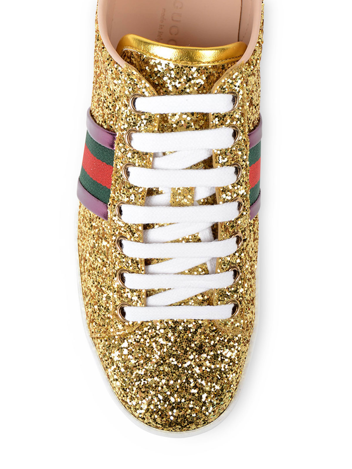 05ff686d3 Gucci - Ace Glitter low top sneakers - trainers - 475610KSP608066