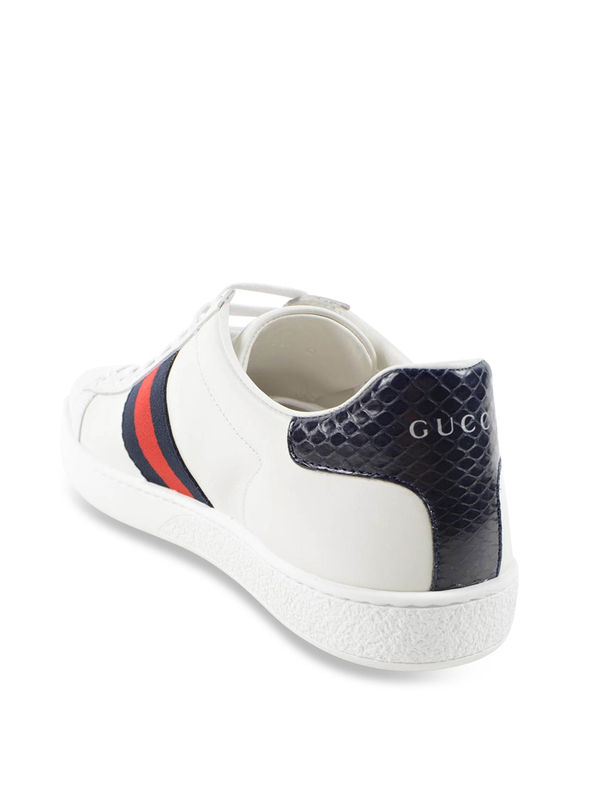 Gucci Ace Leather Sneakers Trainers 387993 A38d0