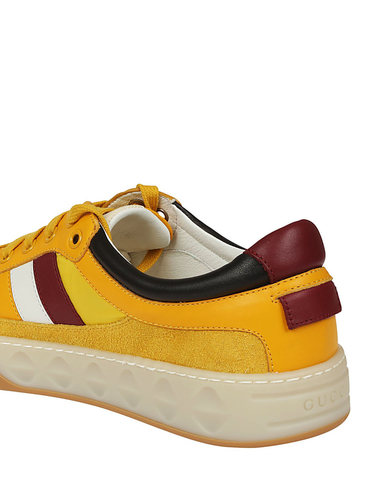 937f91dd0 Gucci - Yellow multi fabric sneakers - trainers - 494761D6Z40G7666
