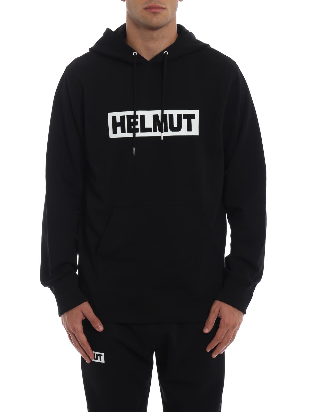 74a9bddfa5c46b iKRIX HELMUT LANG: Sweatshirts und Pullover - Sweatshirt - Schwarz