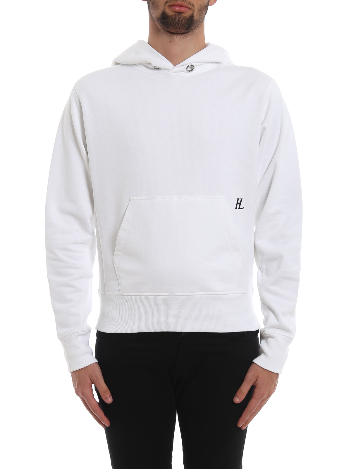Helmut Lang Sweatshirt Weiß Sweatshirts und Pullover