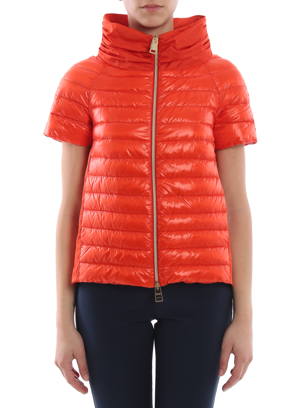 69330eeb564 iKRIX HERNO: padded jackets - Red taffeta and nylon padded jacket